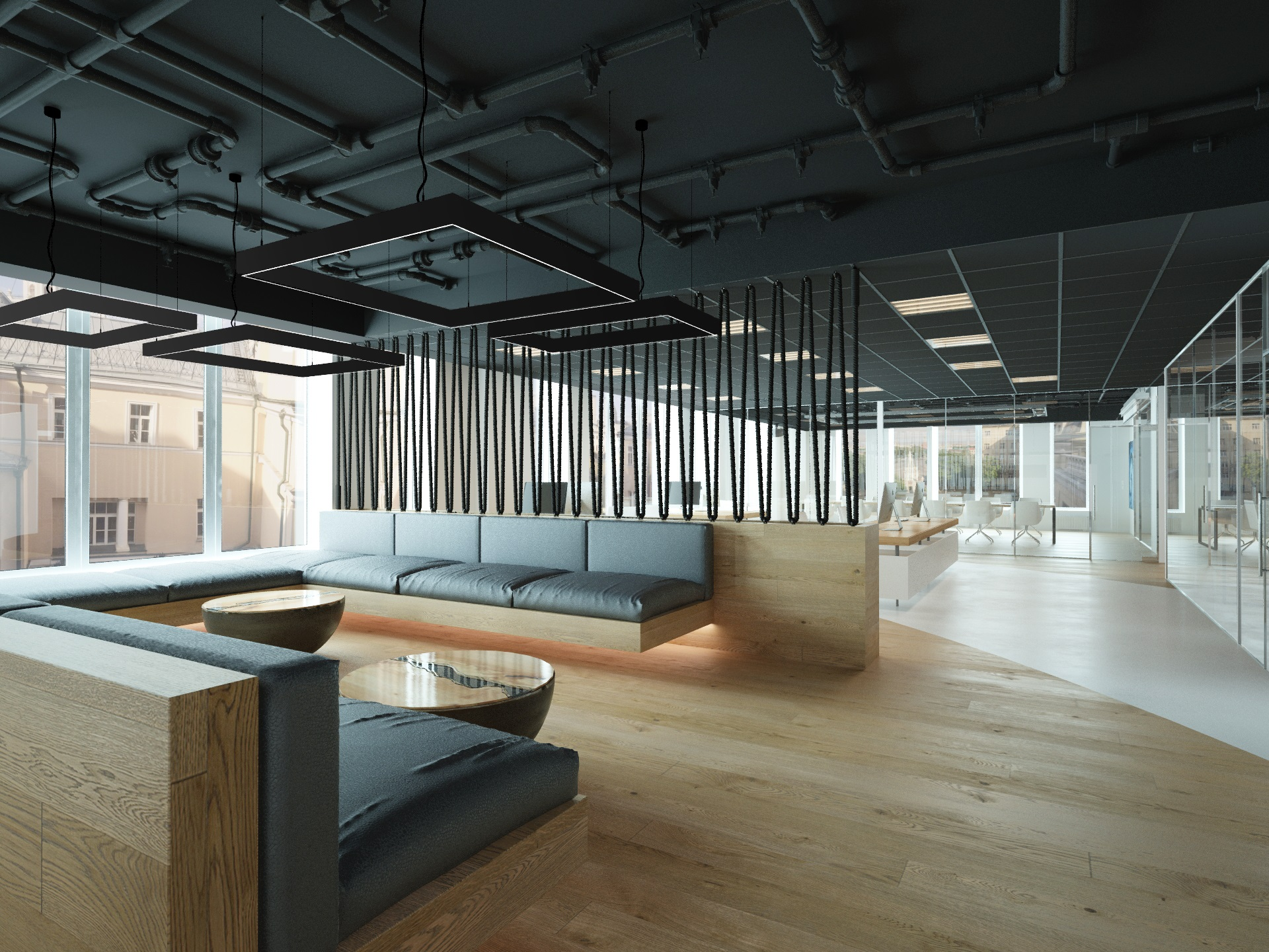 The Loft Office 3D Model
