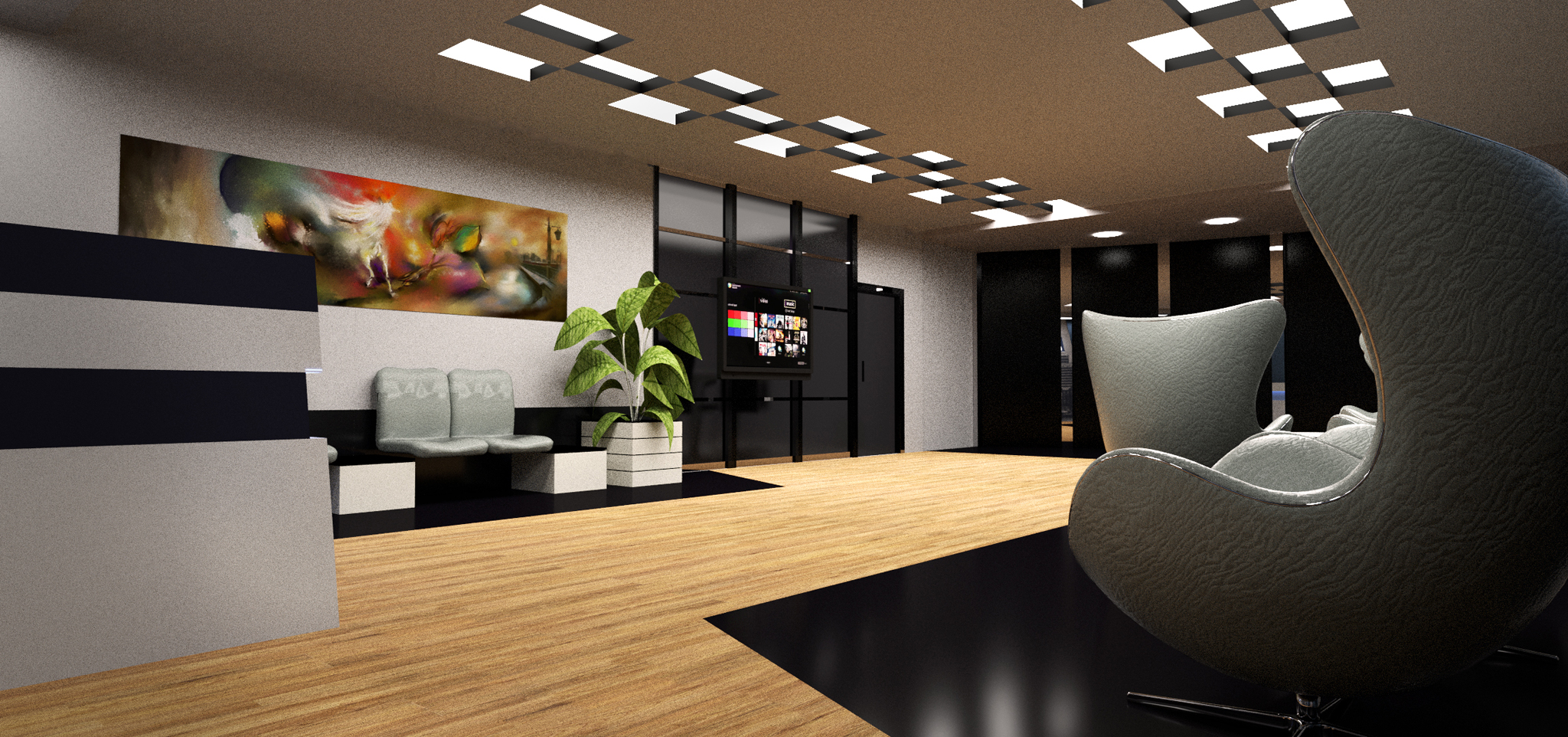 Lcc Office Design 3D Model