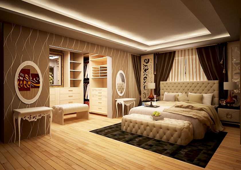 Master Bedroom 3d Design master bedroom | freelancers 3d