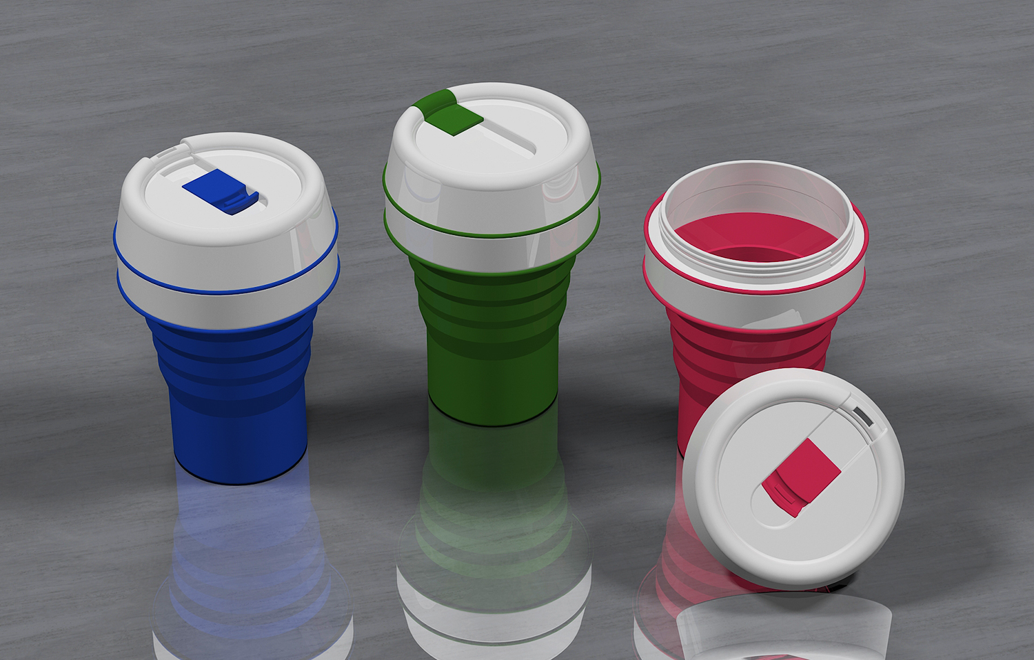 COLLAPSIBLE CUP   Freelancers 3D