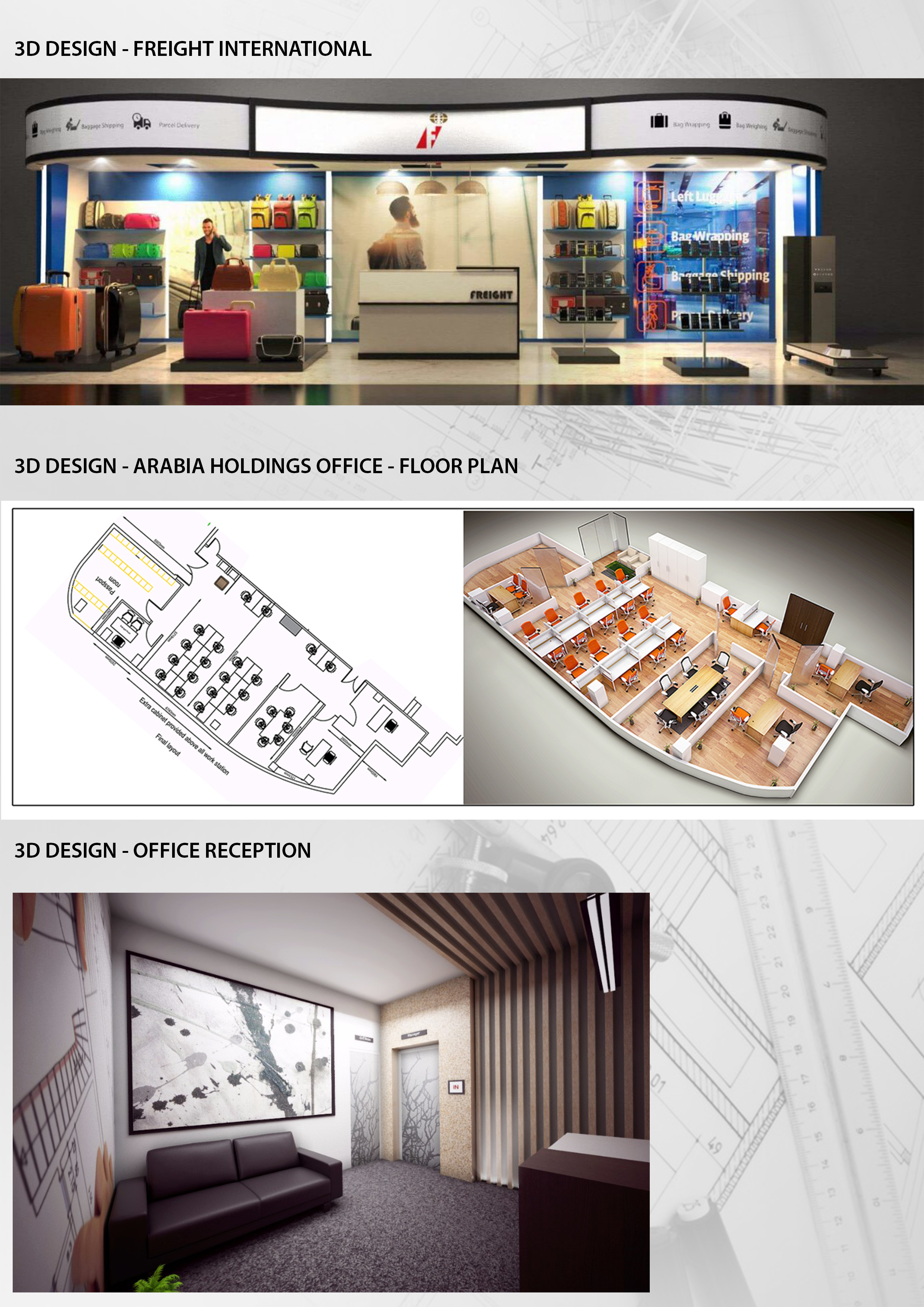 3d Exhibition Stand Design Jobs In Dubai : D designs to various clients freelancers d