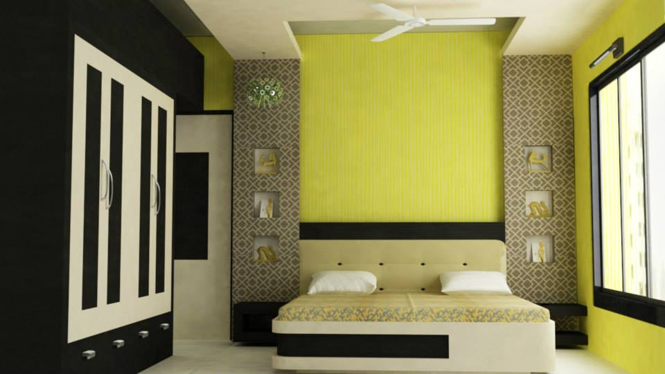 3d model bedroom interiorsoftware used 3ds max v ray