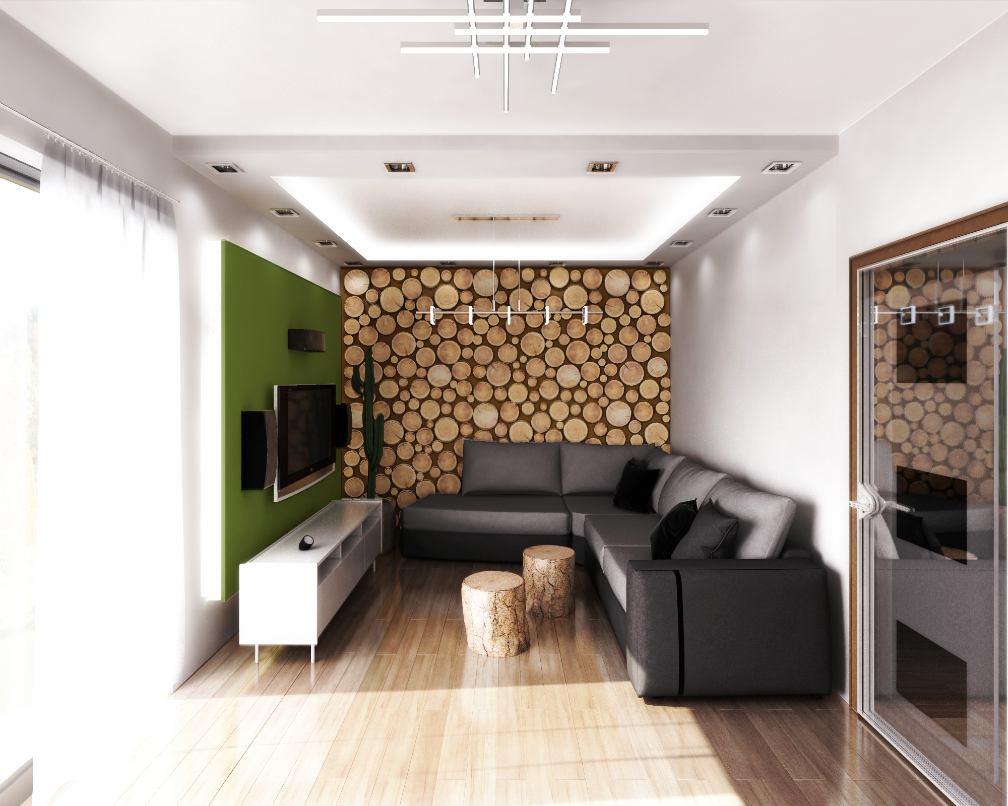 Interior 3D Model   Living Room