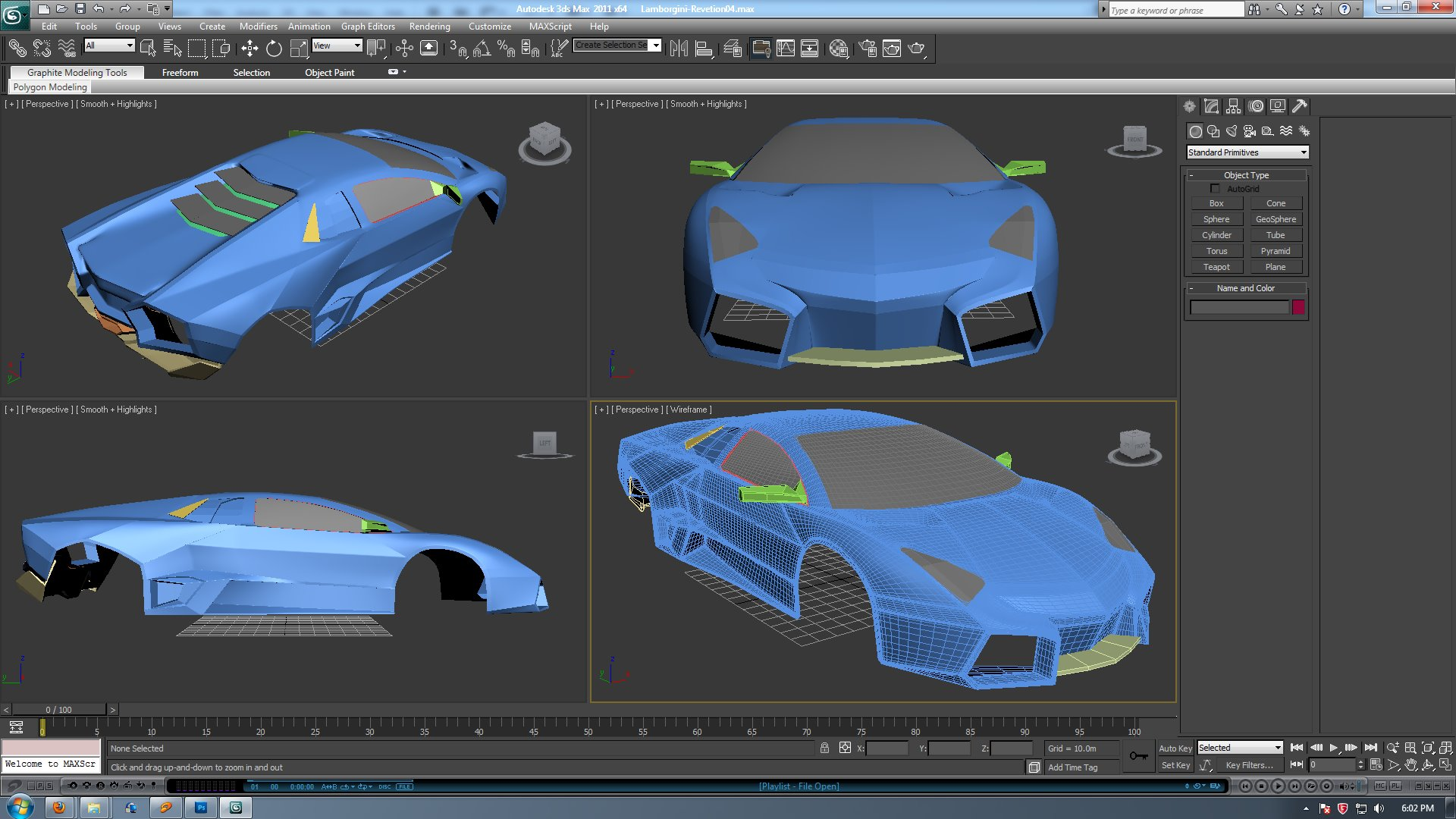 Car Modeling | Freelancers 3D