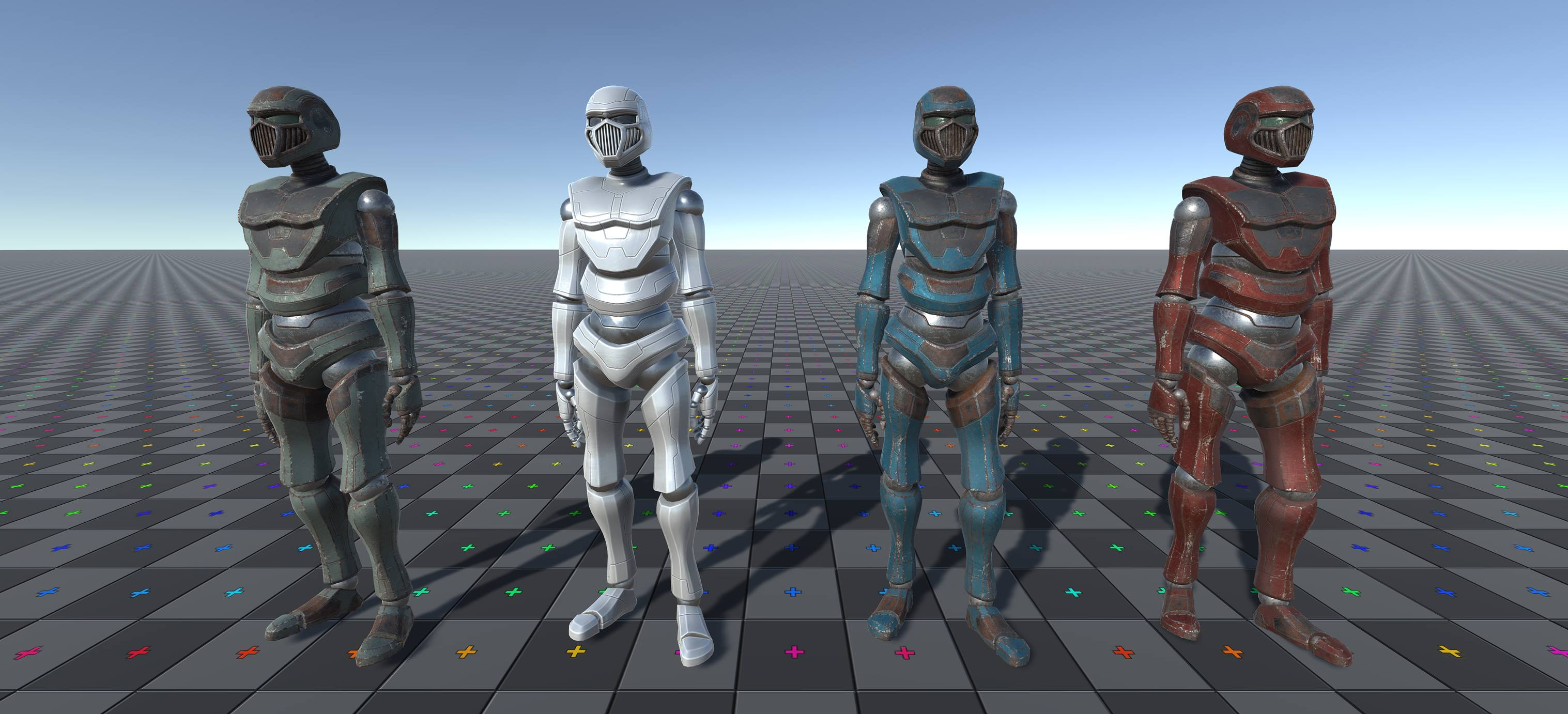 Rigged character for Unity 3rd person controller