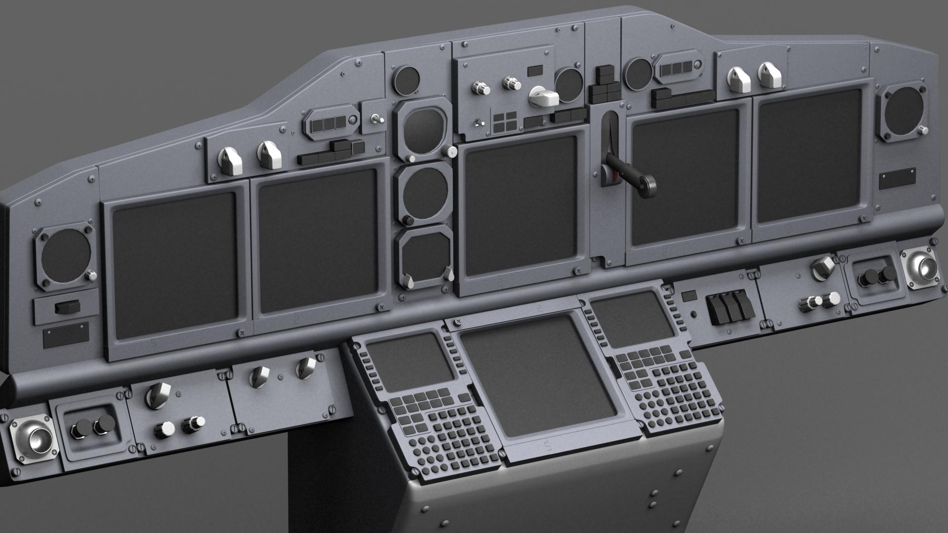 Boeing 737 NG Cockpit | Freelancers 3D