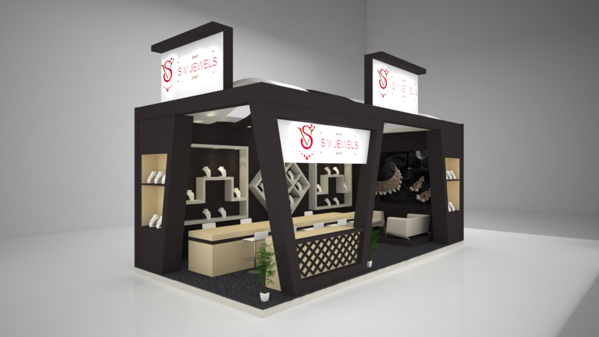 3d Exhibition Model : Exhibition stall freelancers d