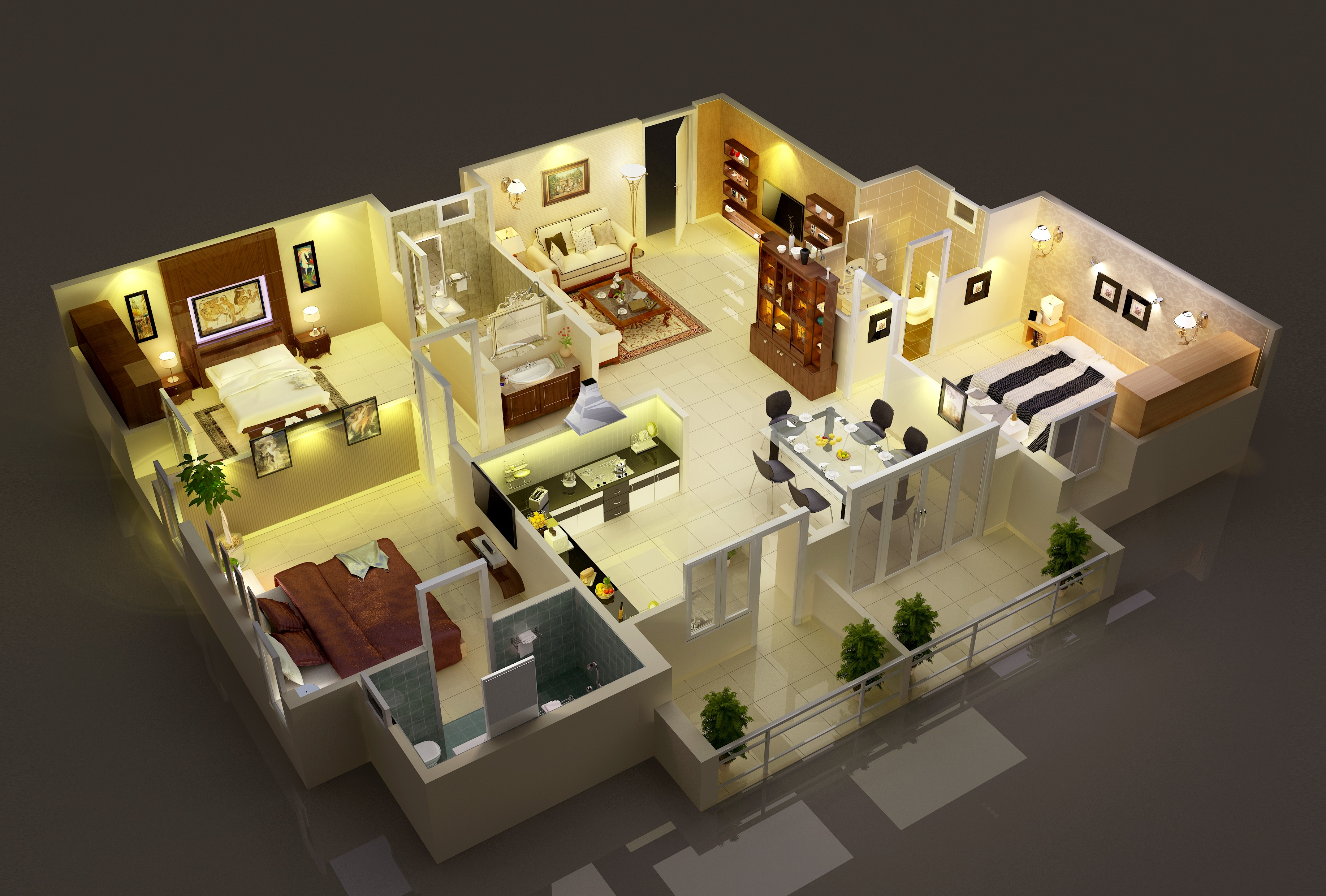 Interior Projects | Freelancers 3D