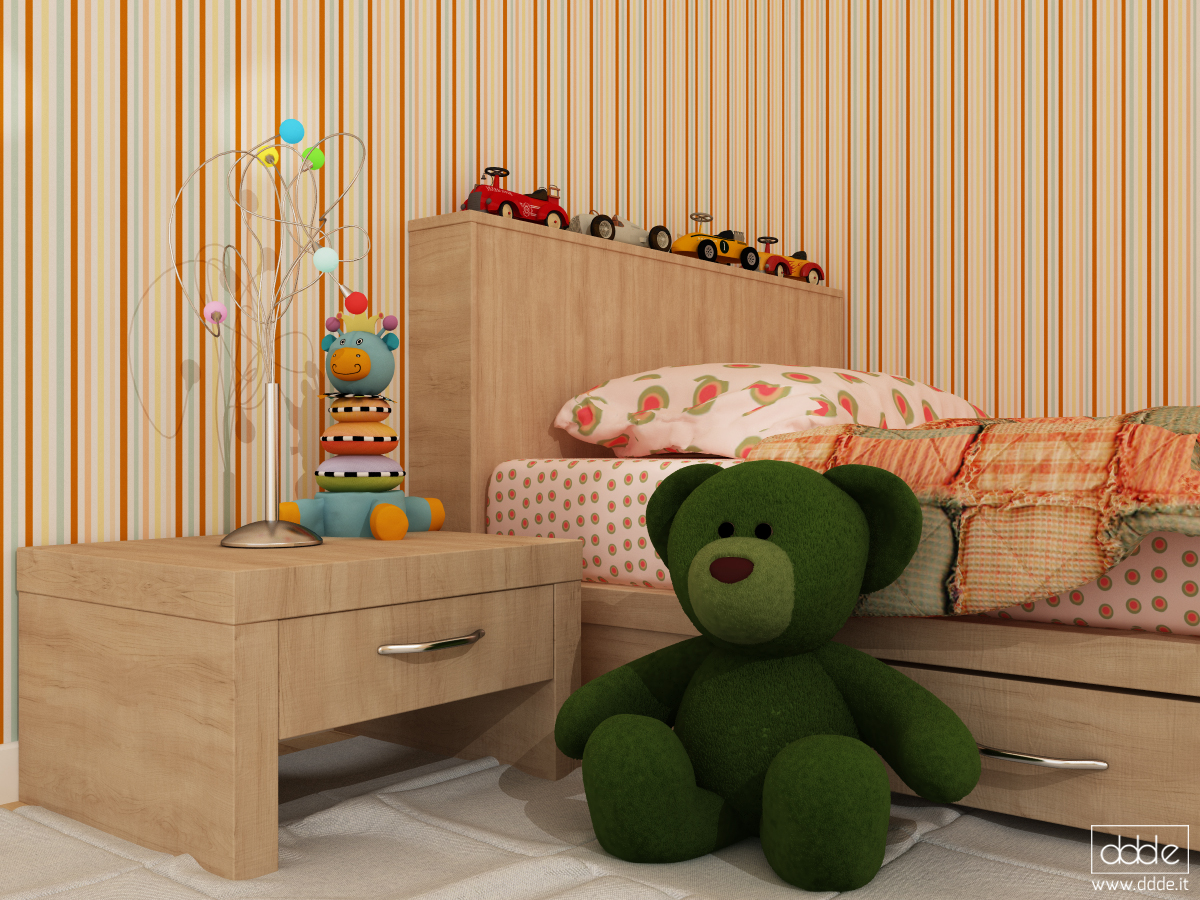Kids Bedroom 3d Model kids' bedroom | freelancers 3d