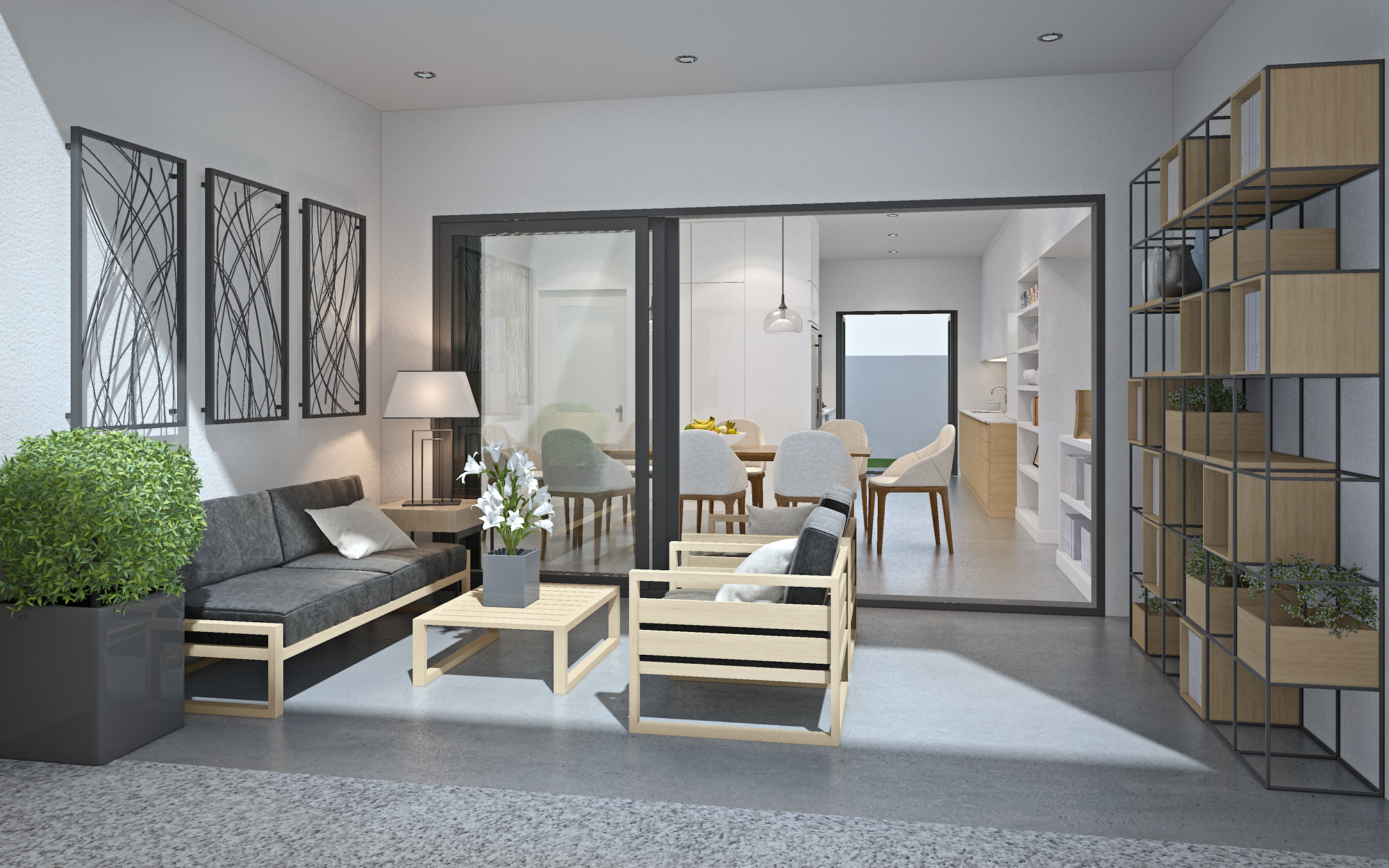 3D-HOME-ALFRESCO 3D model - 3D-HOME-ALFRESCO
