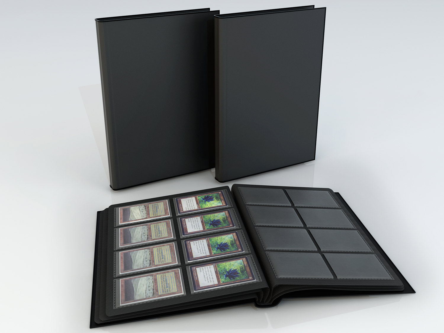 Showcasing Product Visualization here 3D model - Binder for Game Cards