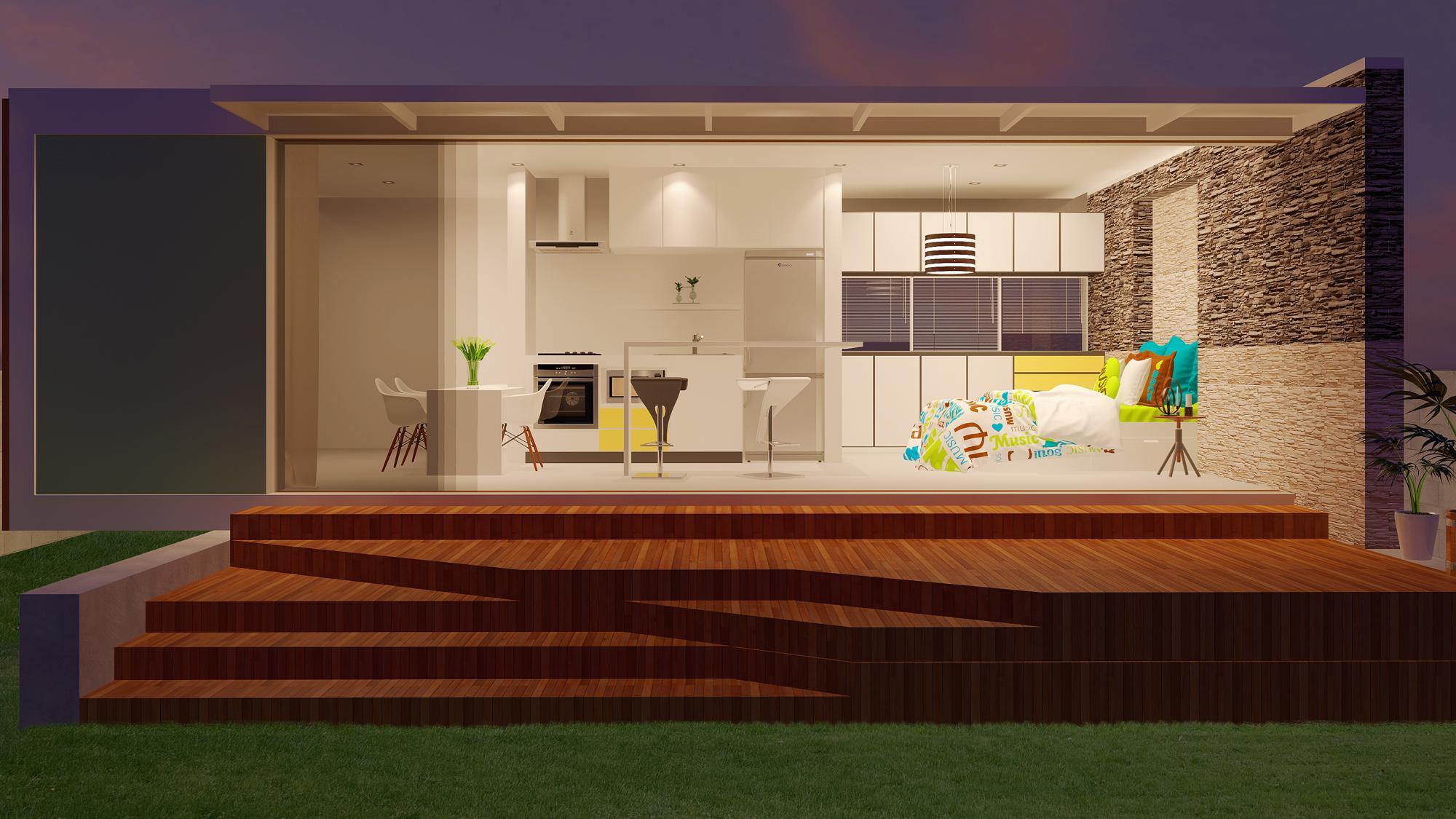 maison blanche | Freelancers 3D