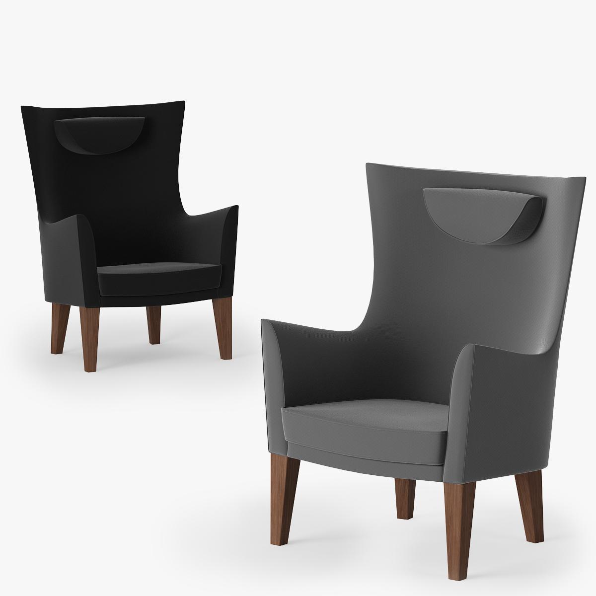 Fotel Stockholm Mosta Ikea Freelancers 3d