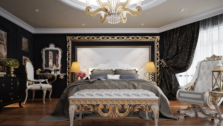 Superieur Classic Bedroom 3D Model