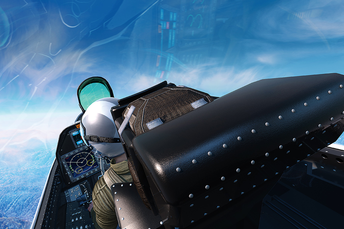F22 cockpit - Curtiss Wright Controls web images