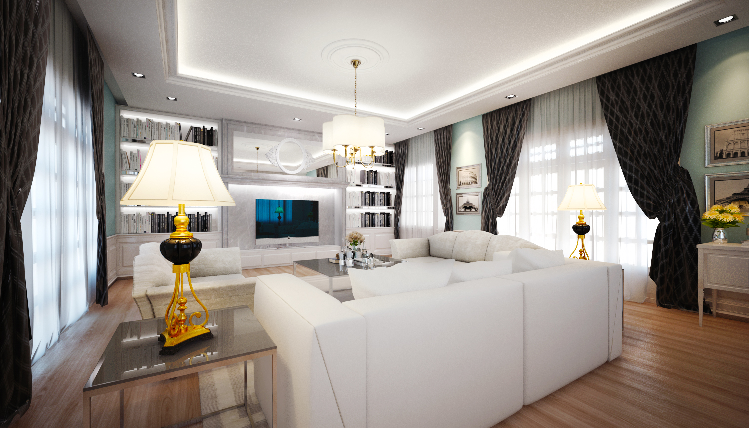 Classic Chic Private ResidentialMalaysia 3D Model
