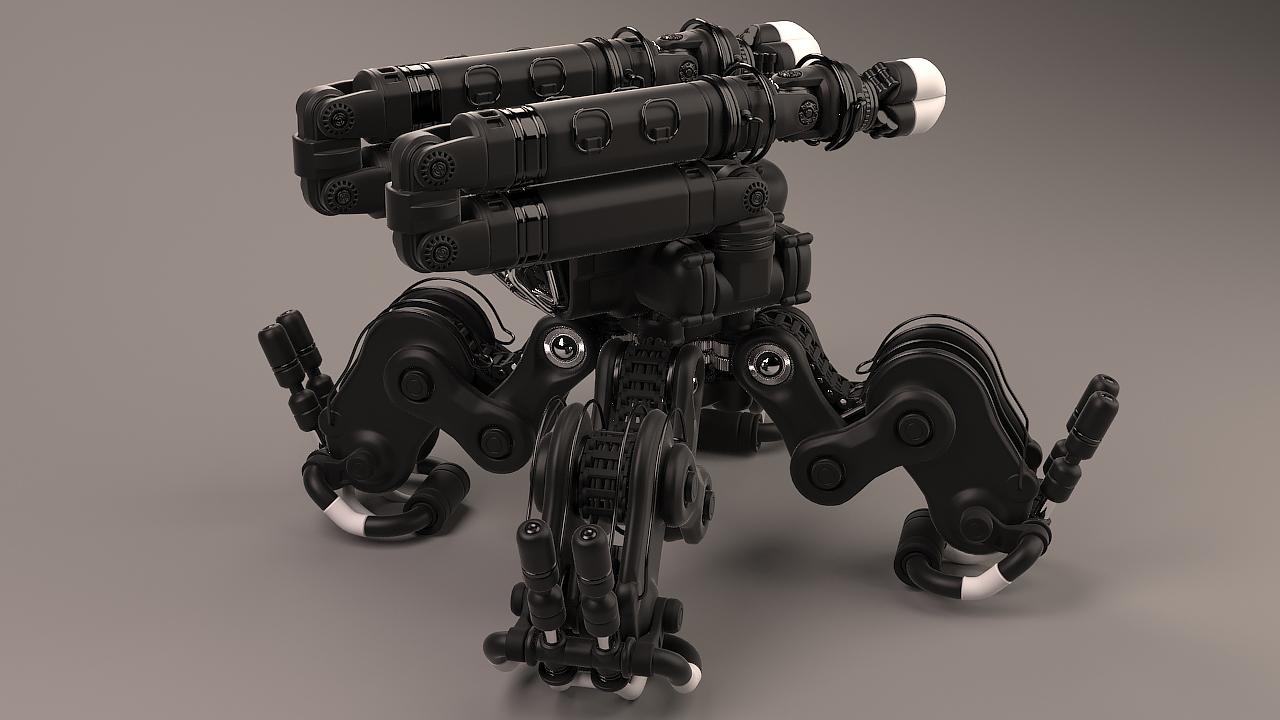 Robotic lifter | Freelancers 3D