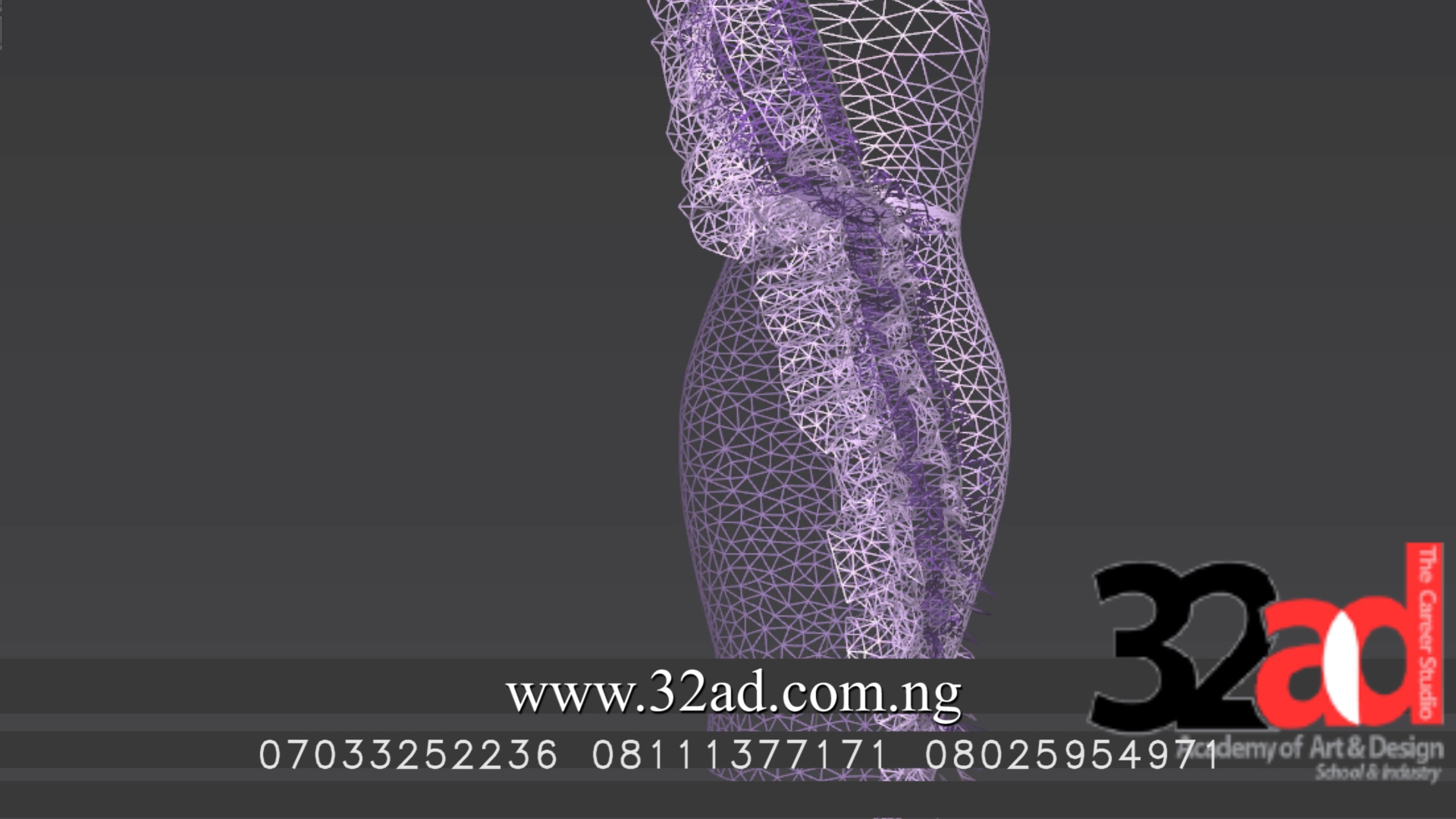 Digital Fashion Visualization 3D model