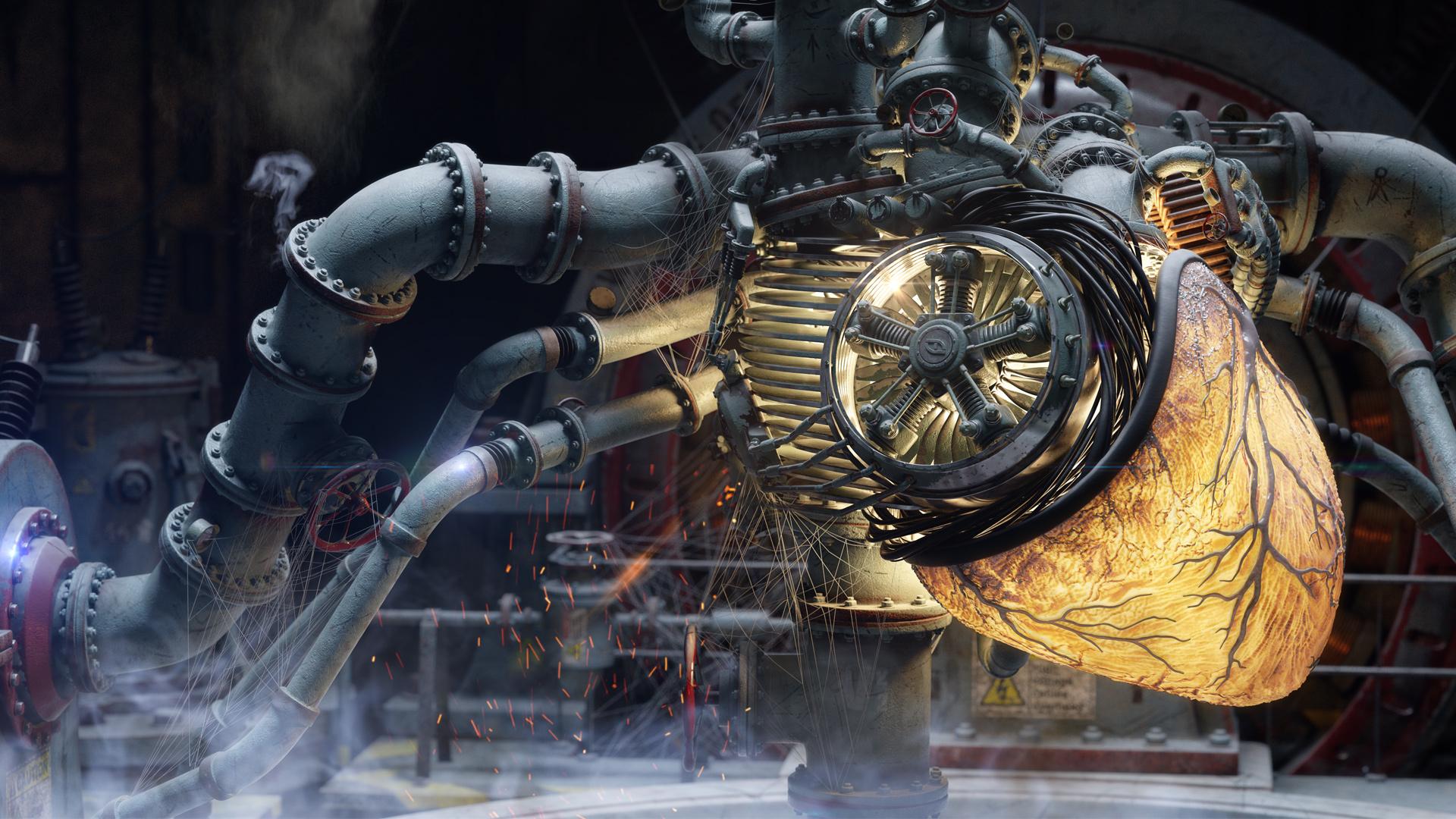 Engine room | Freelancers 3D