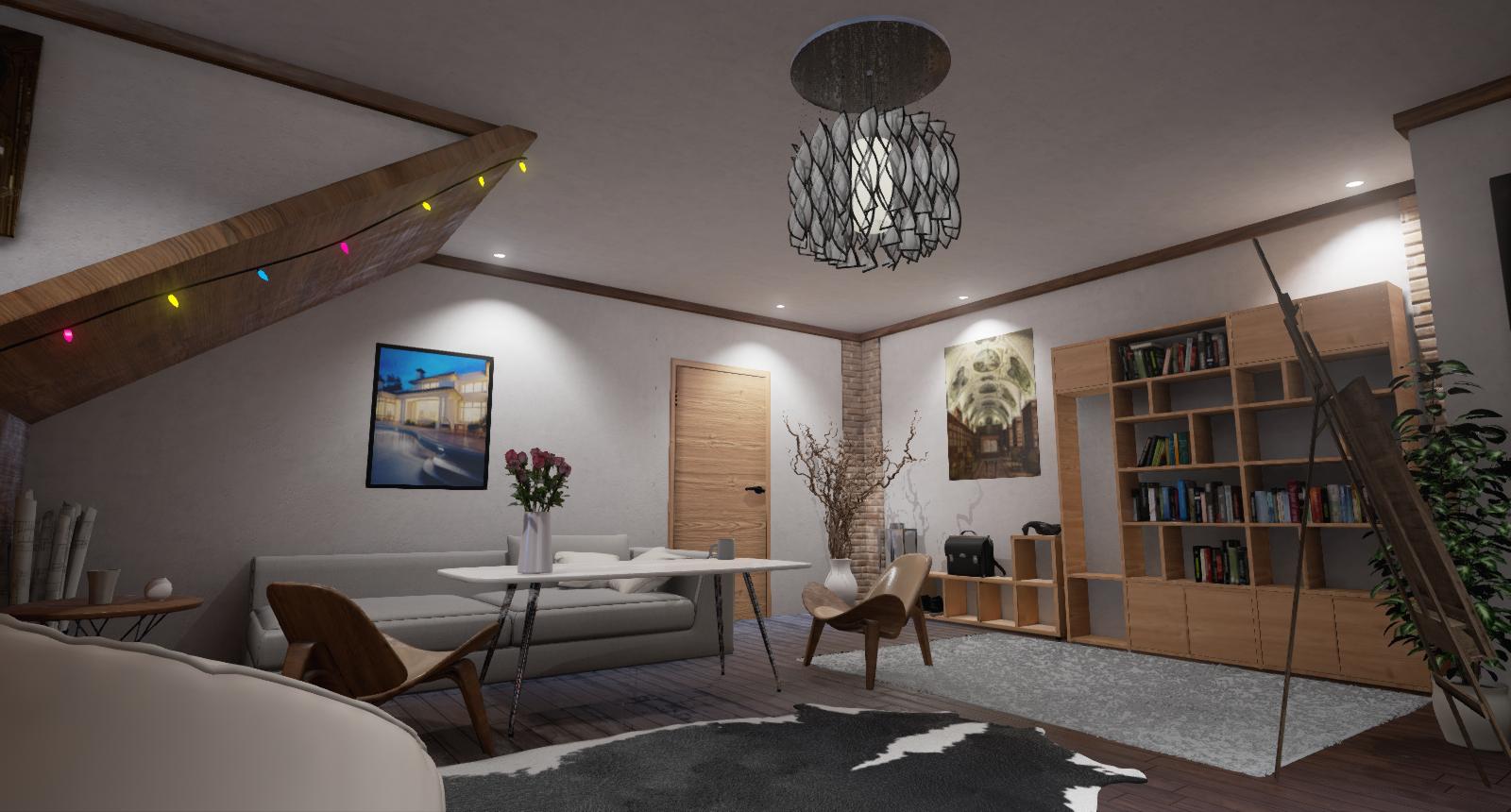 Interior Design In Unreal Engine 4 3D Model