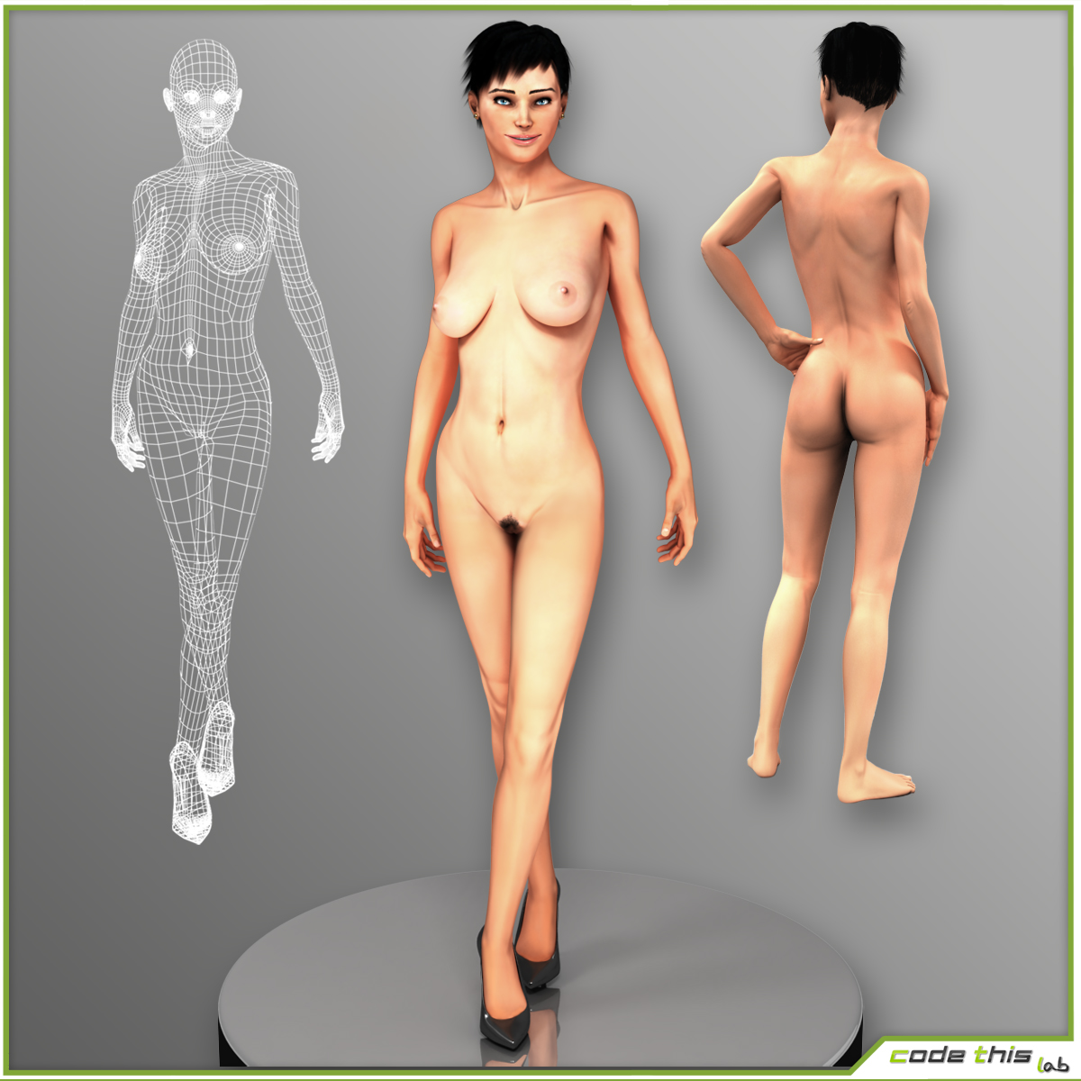 Nude 3ds naked womens