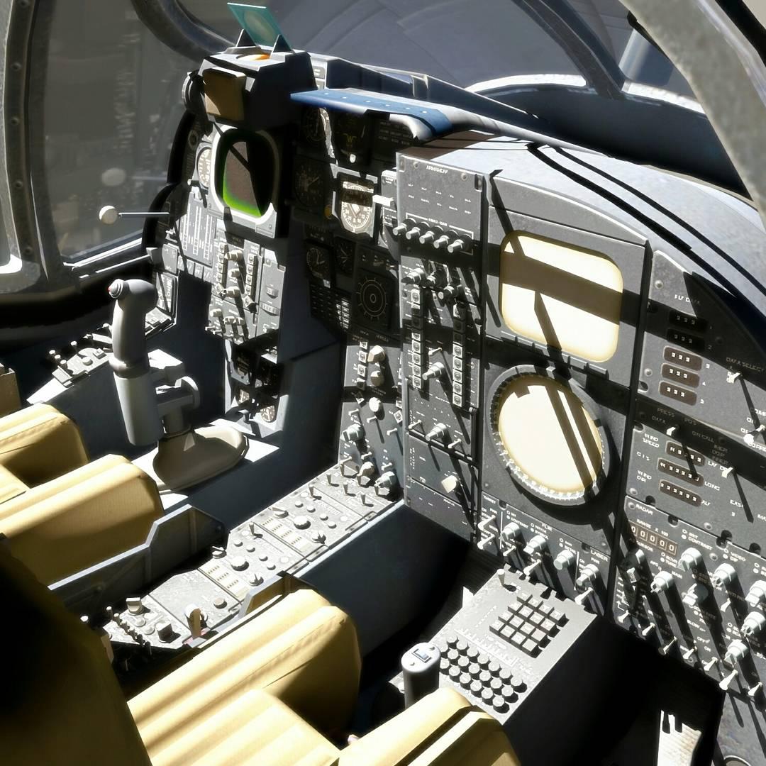 Cockpit modeling | Freelancers 3D