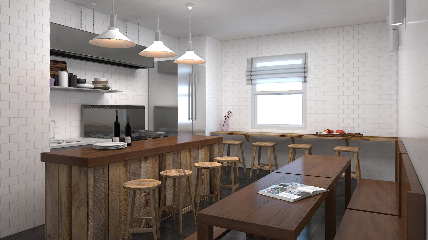 Kitchen Visualization 3D model - For Jonathan Small,USA