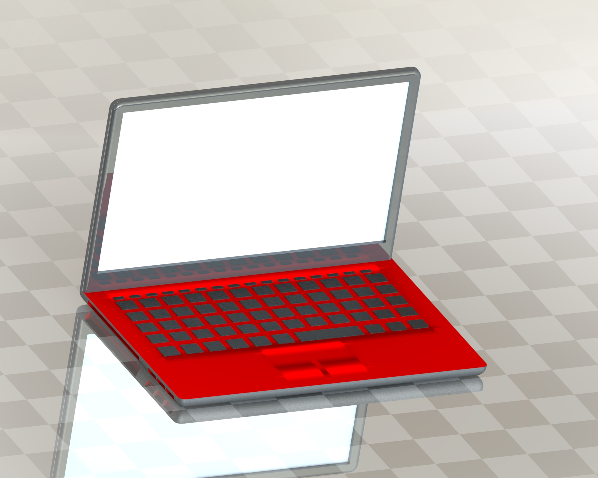Dell Inspiron Laptop Shabaz Shareef Scheme Islamabad, Pakistan 3D model