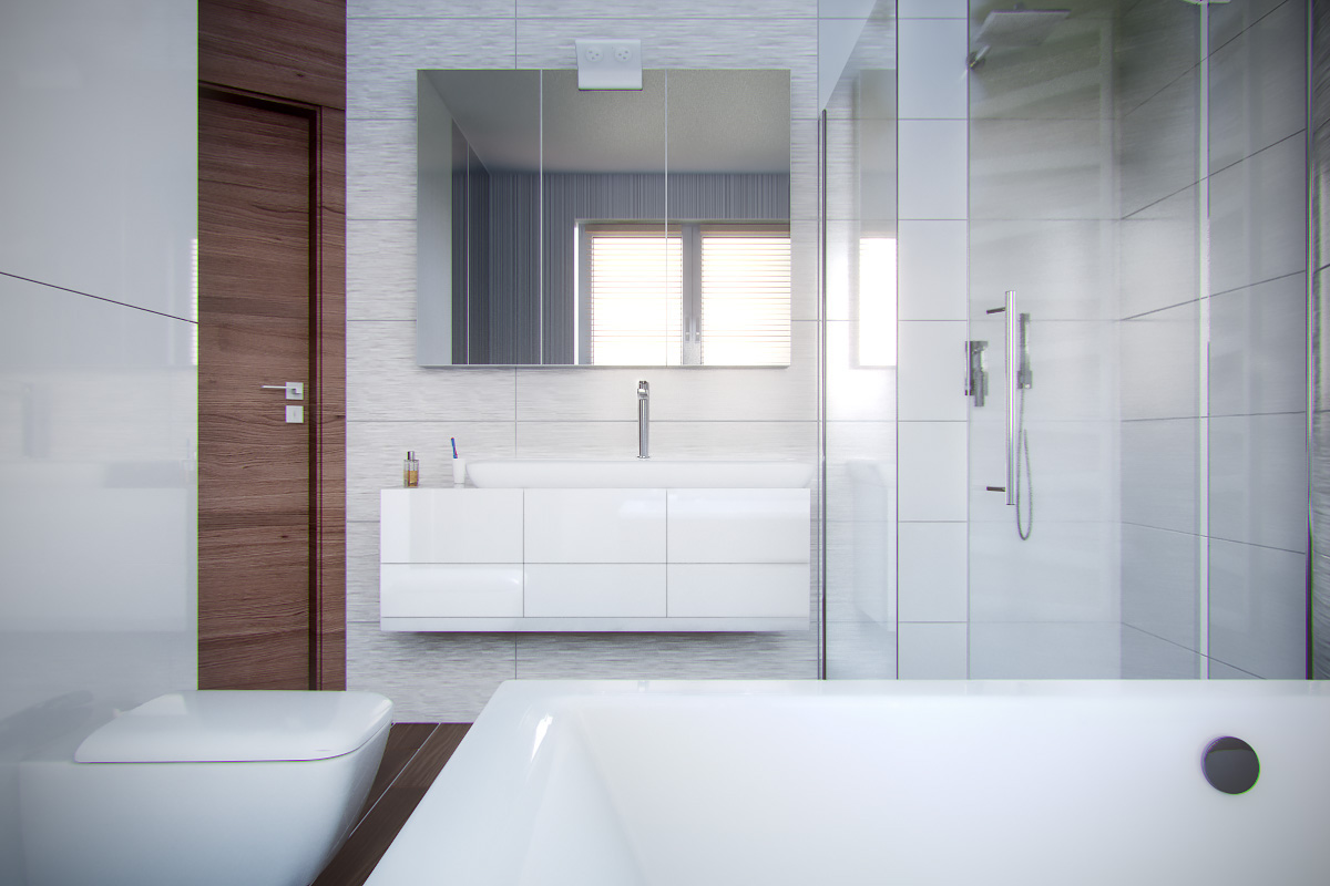 Bathroom interior visualization | Freelancers 3D