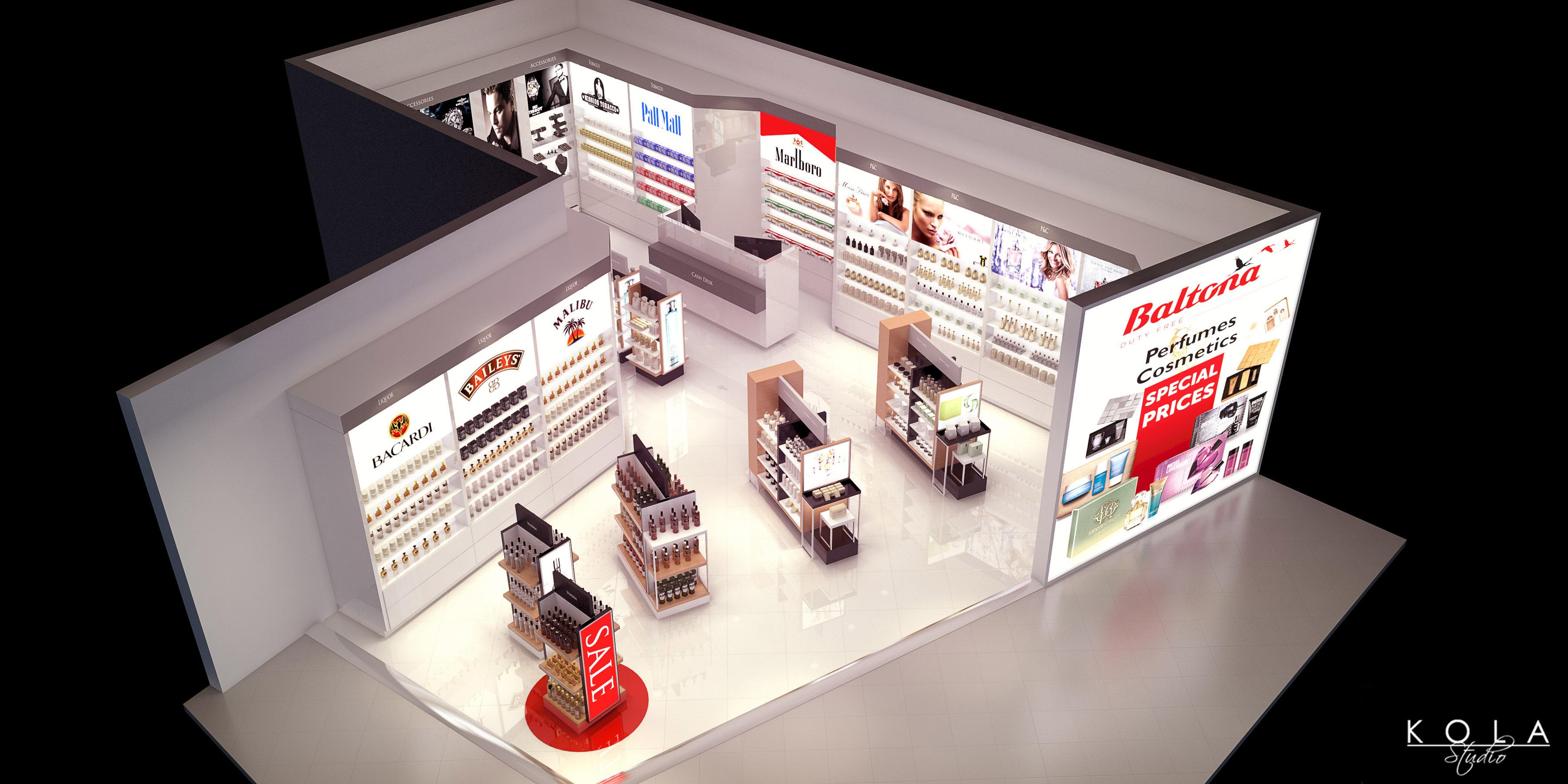 Duty Free Shop   Freelancers 3D