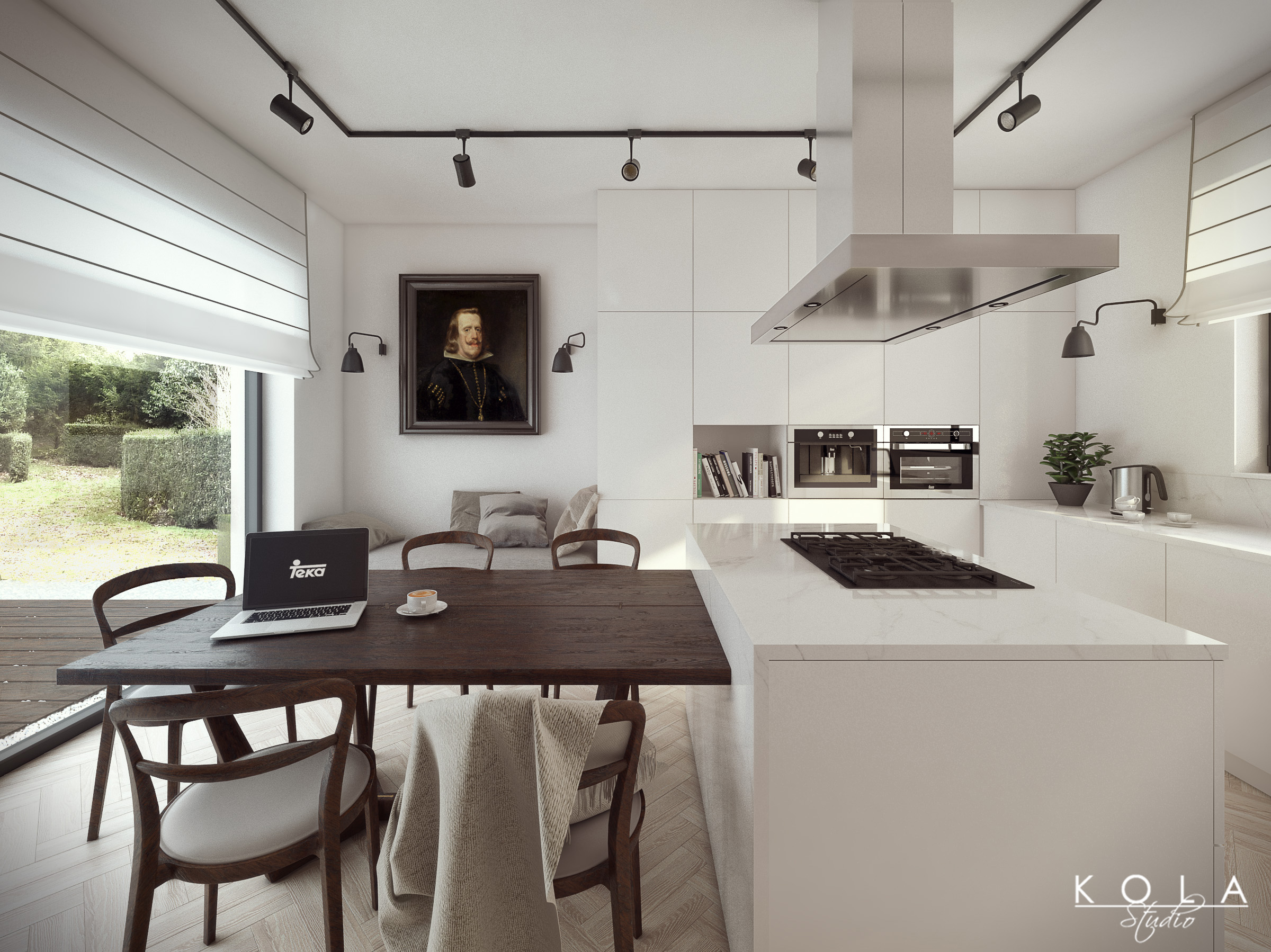 Eclectic Kitchen Eclectic Kitchen For Teka Freelancers 3d