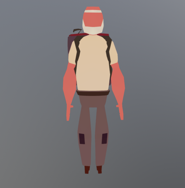 Low-poly game characters  | Freelancers 3D