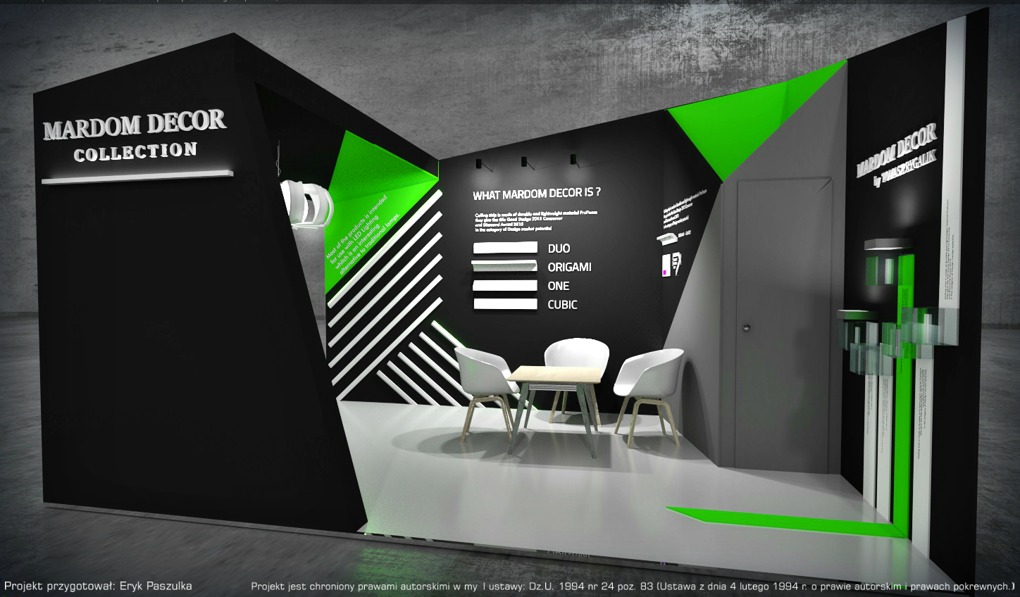 booth design 2016 | Freelancers 3D