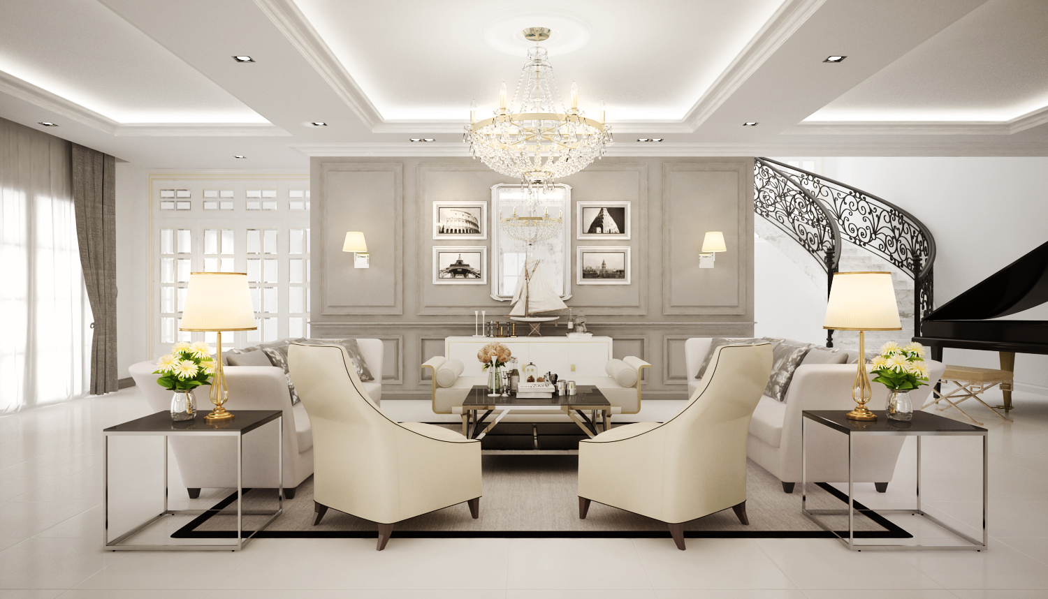 Classic chic Private ResidentialMalaysia Freelancers 3D