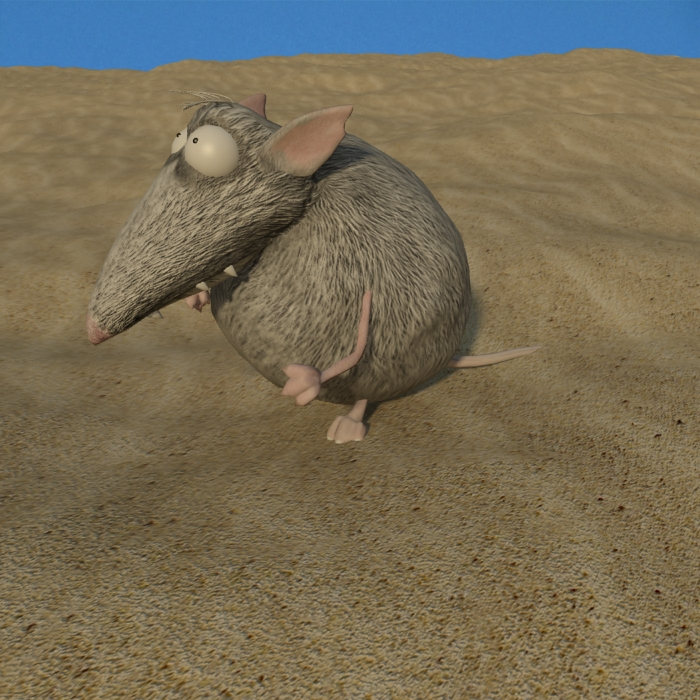 wolf-mouse 3D model