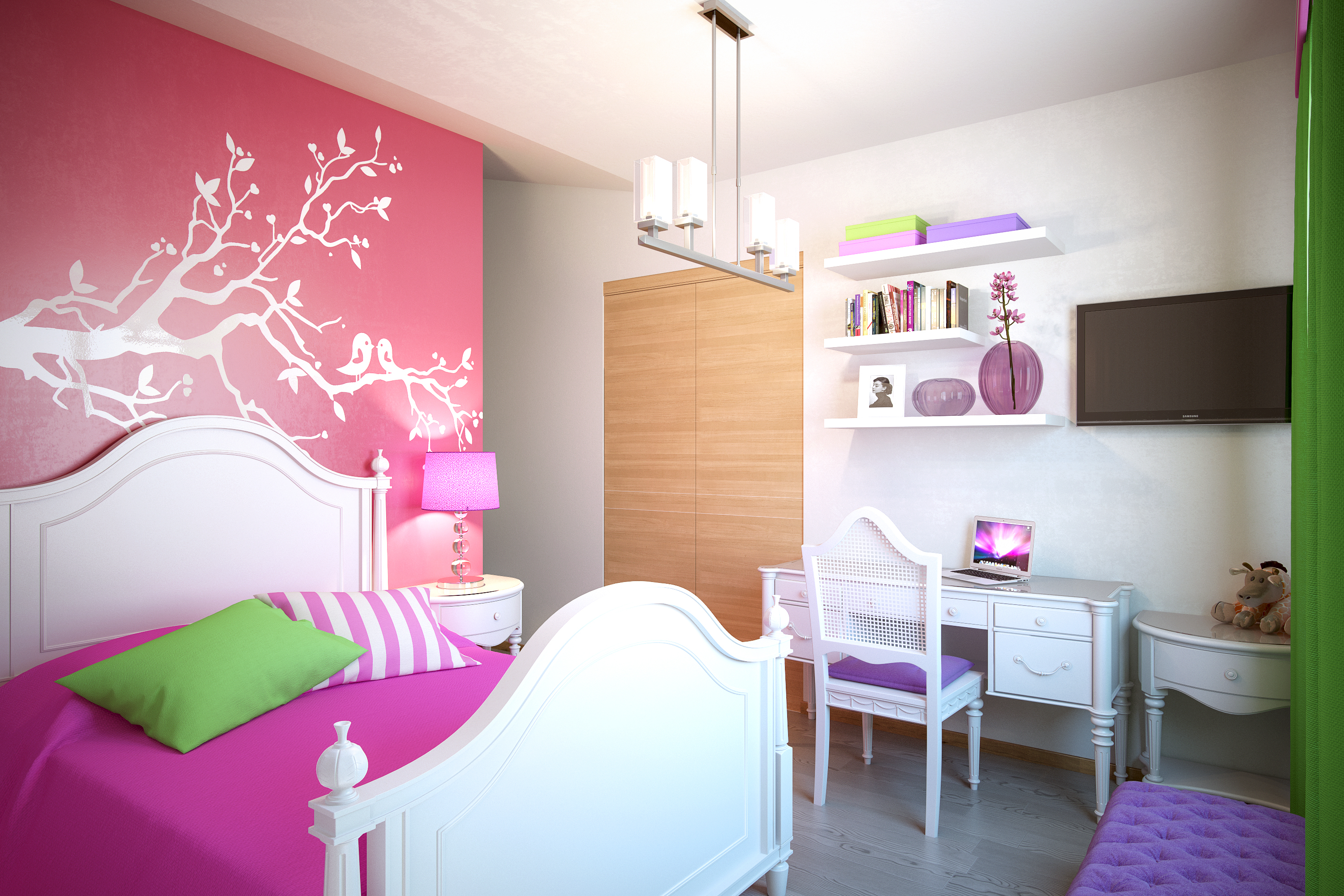 Kids Bedroom 3d Model kids bedroom | freelancers 3d