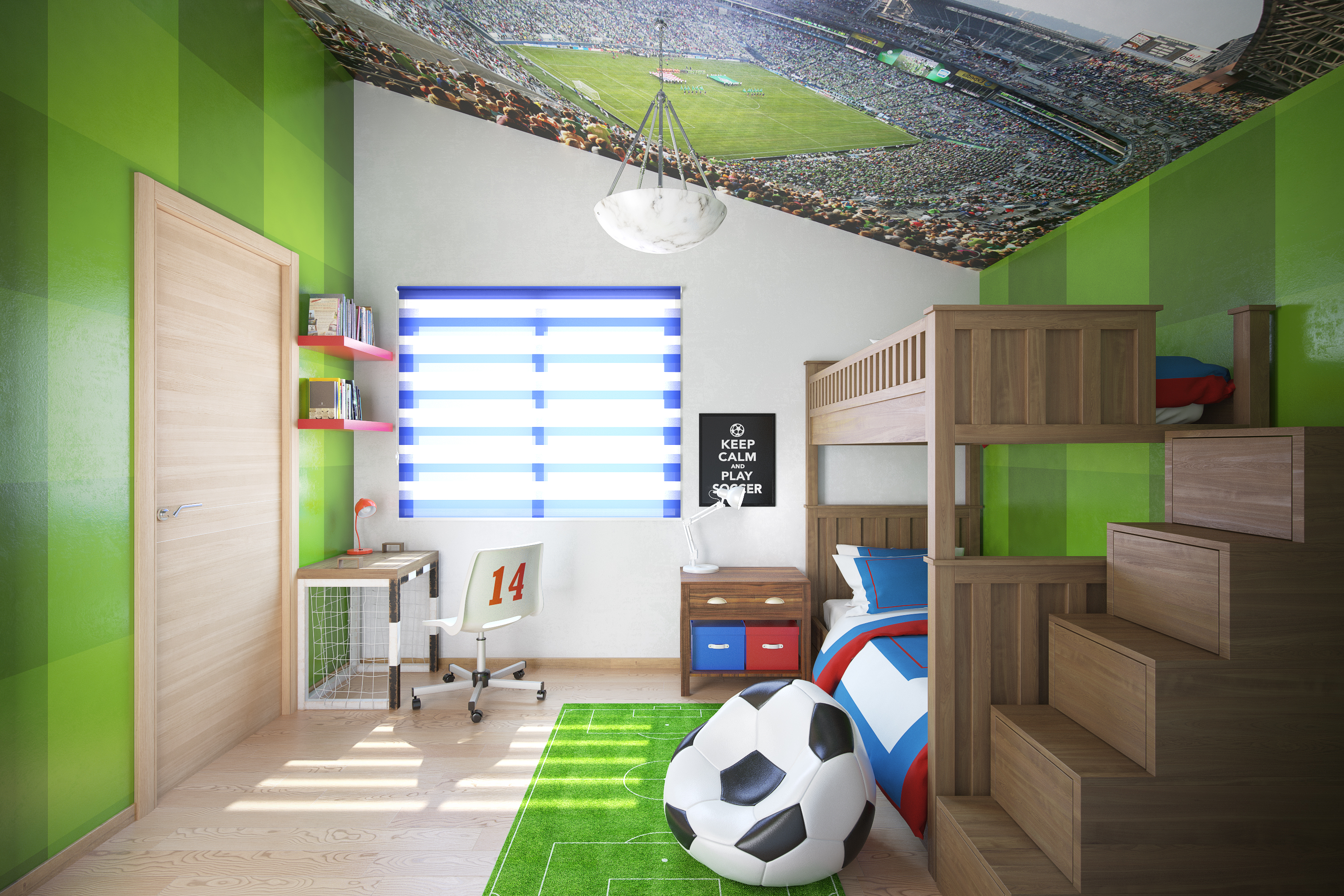 Kids Bedroom Model kids bedroom | freelancers 3d