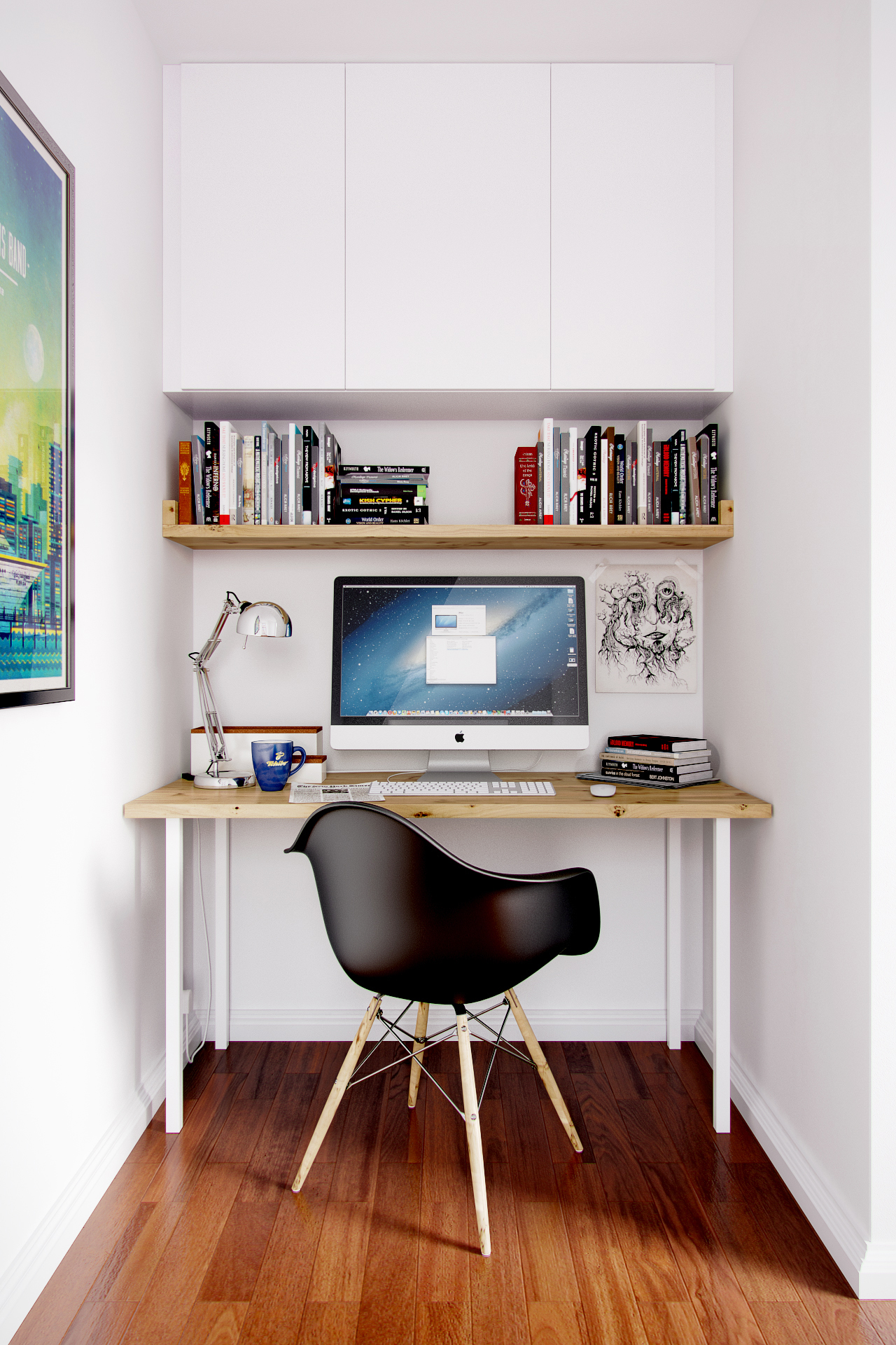 Small Office Freelancers 3d