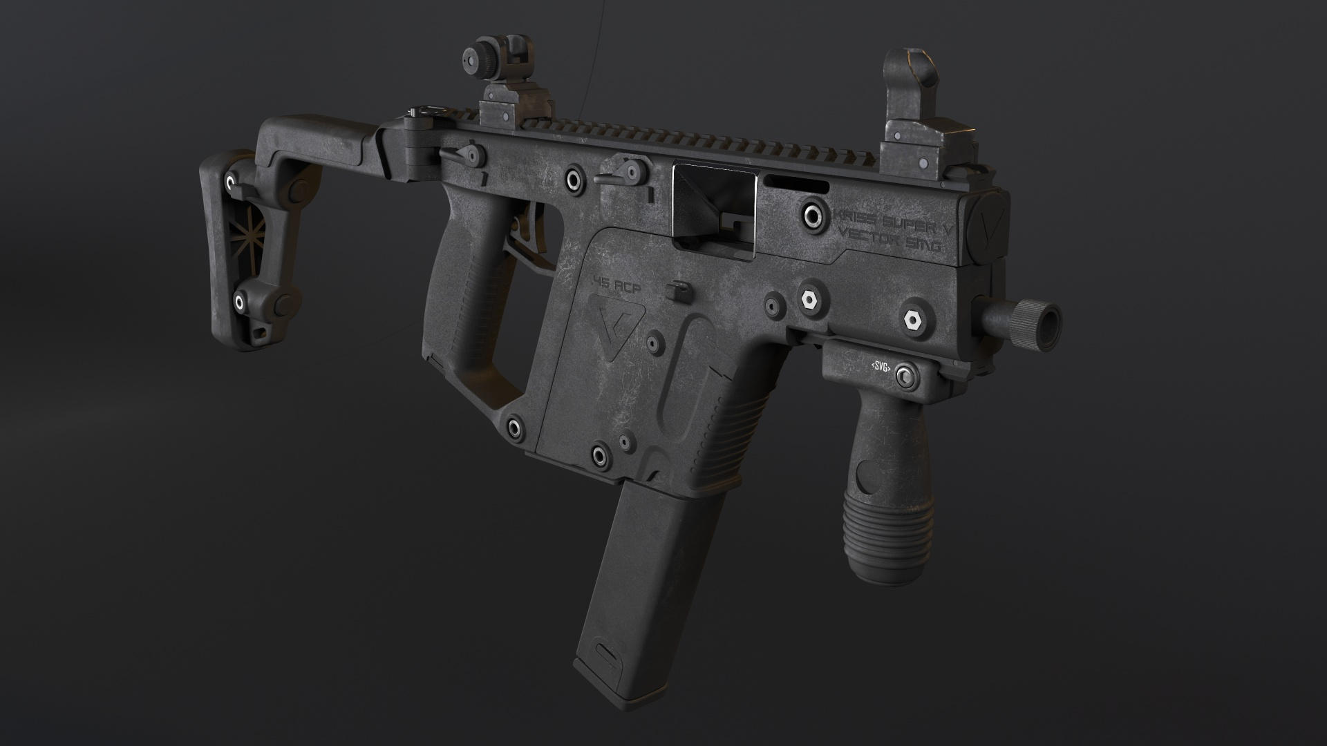 Kriss Vector Smg Freelancers 3d