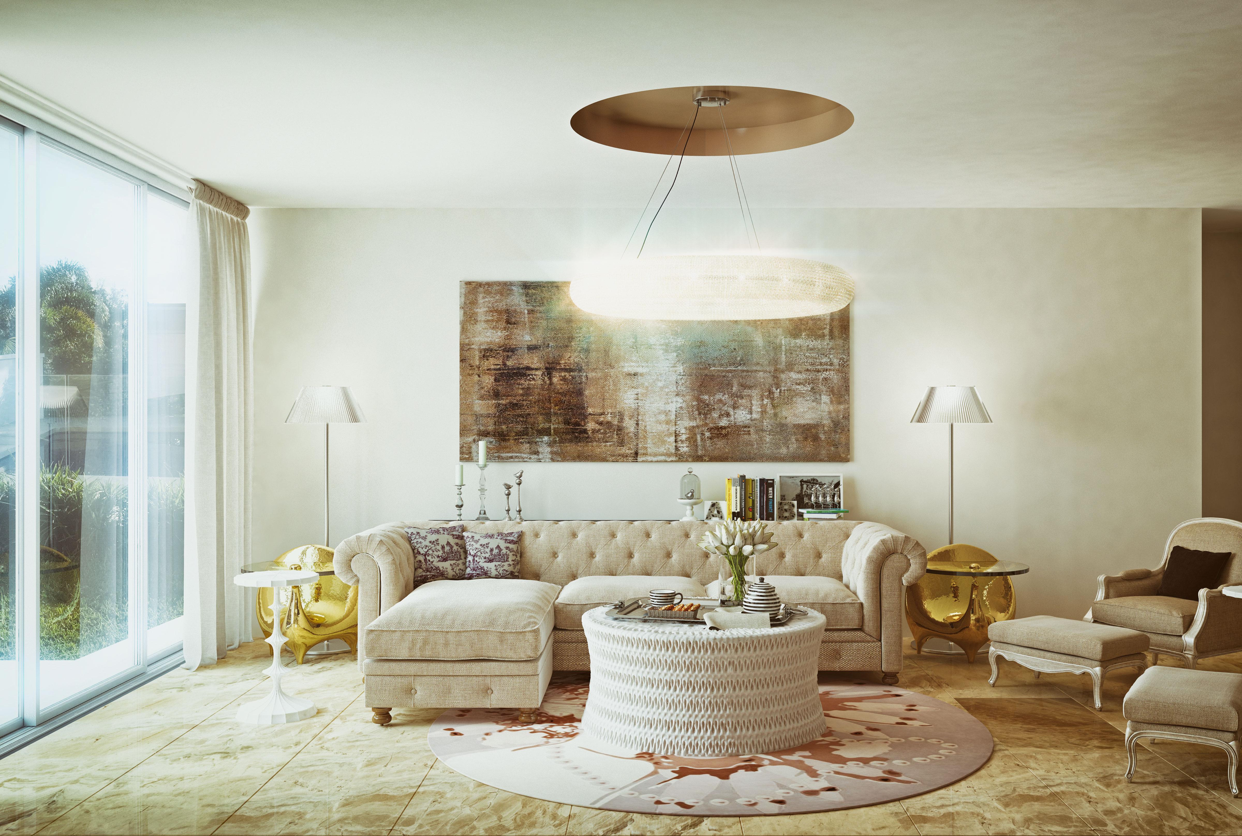 Interior rendering / Modern Luxury Livingroom | Freelancers 3D