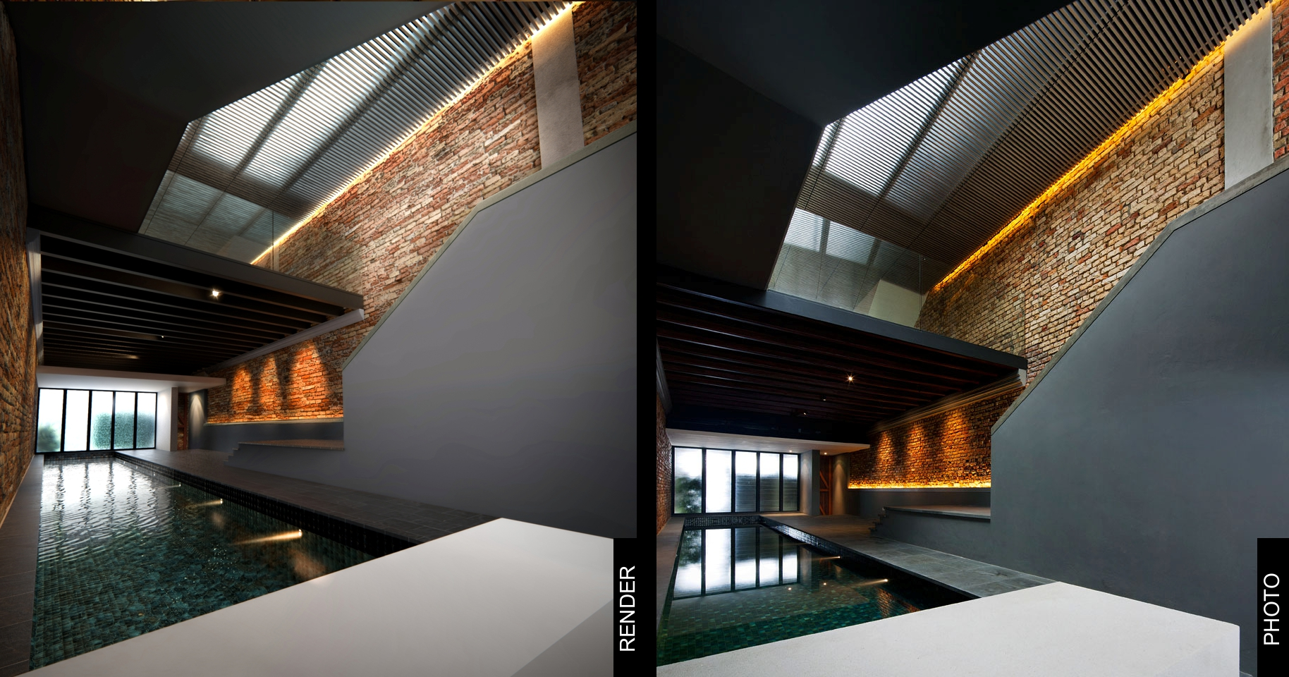 The Pool Shophouse | Render Study 3D model