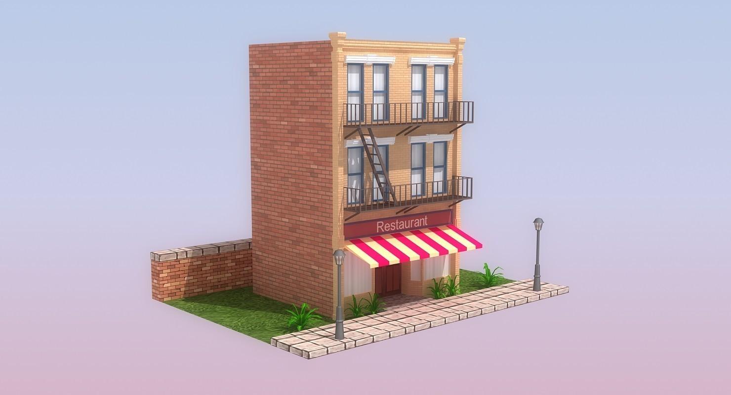 Modular Low Poly Buildings | Freelancers 3D