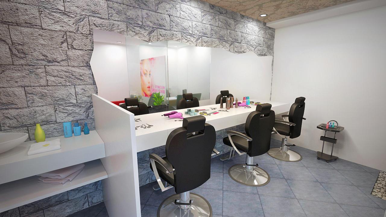 Spa saloon interior design Freelancers 3D