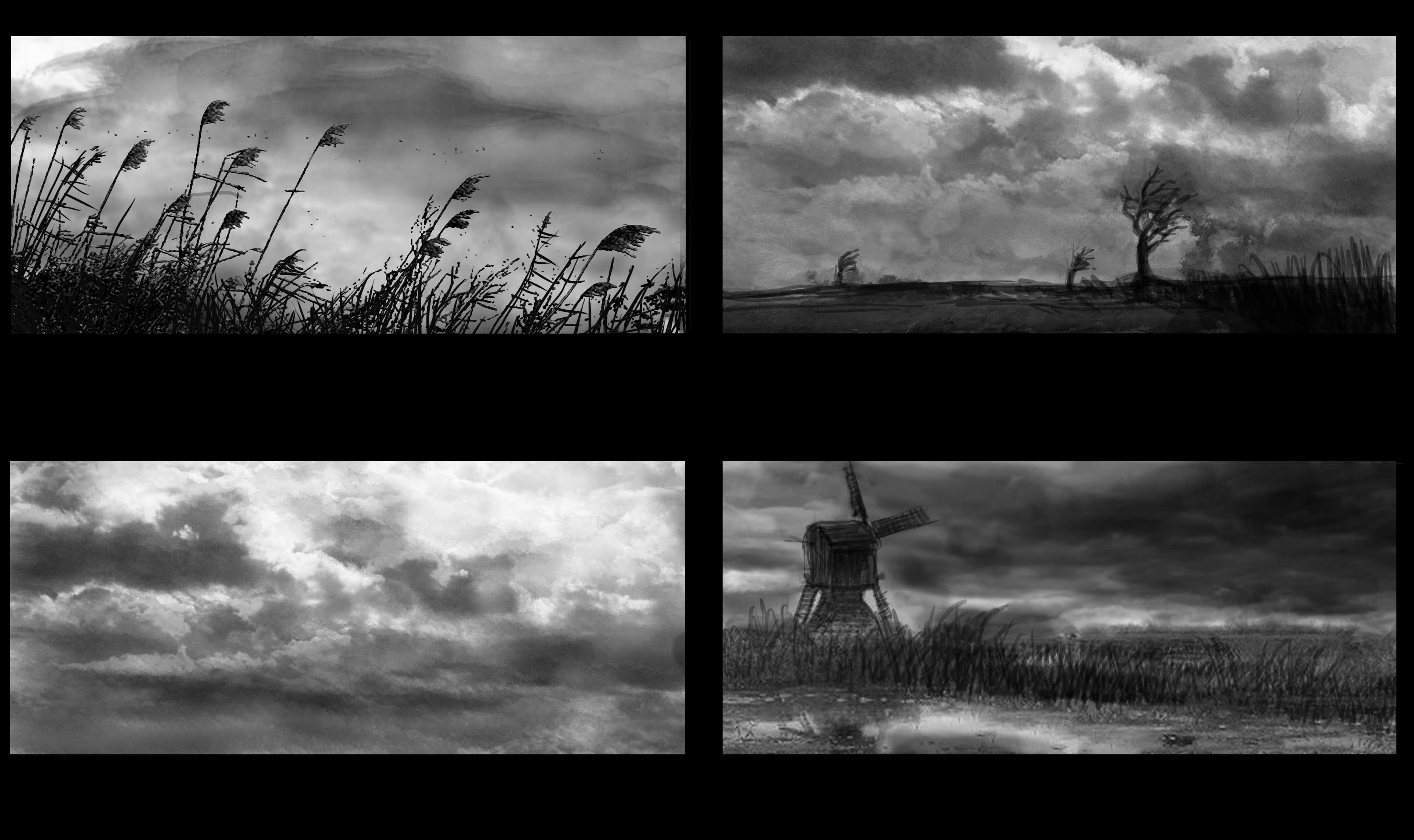 Holland - The Living Delta 3D model - Storyboard 1/7 for the shooting of the movie