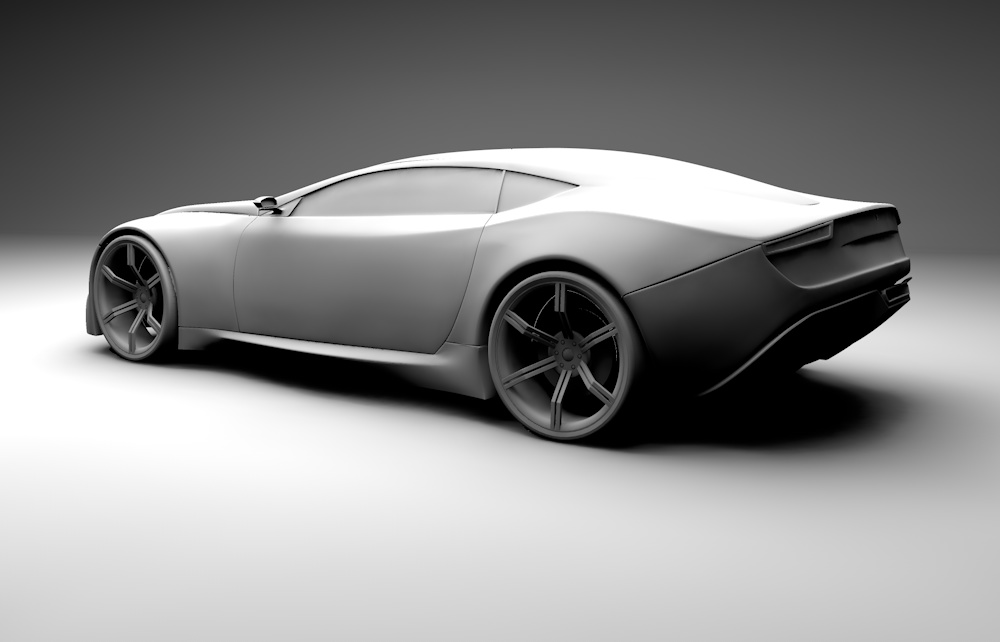 Project Arrow 3D model