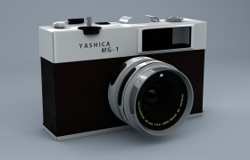 YASHICA MG-1 Digital Camera 3D model