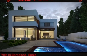 Exterior Visualisations 3D model