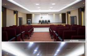 Arabia Holdings - Auditorium 3D model - Arabia Holdings - Auditorium , Dubai