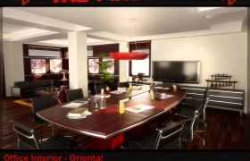 Interior Visualisations 3D model
