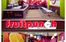 Fruit Punch -  Al Hamra Mall ,Ras Al Khaimah , 3D model - Fruit Punch - Al Hamra Mall , Ras Al Khaimah